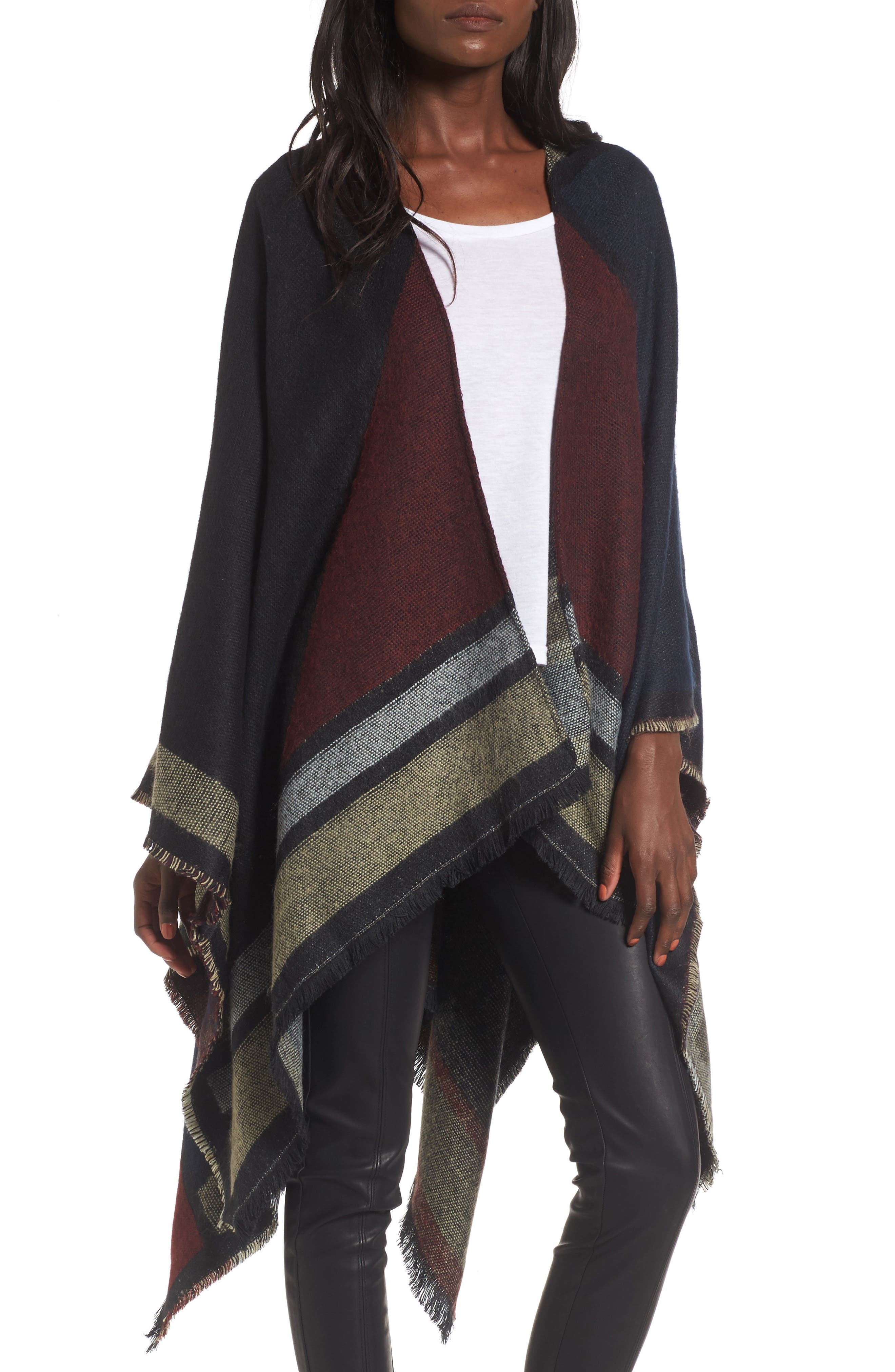 Main Image - BP. Colorblock Cape