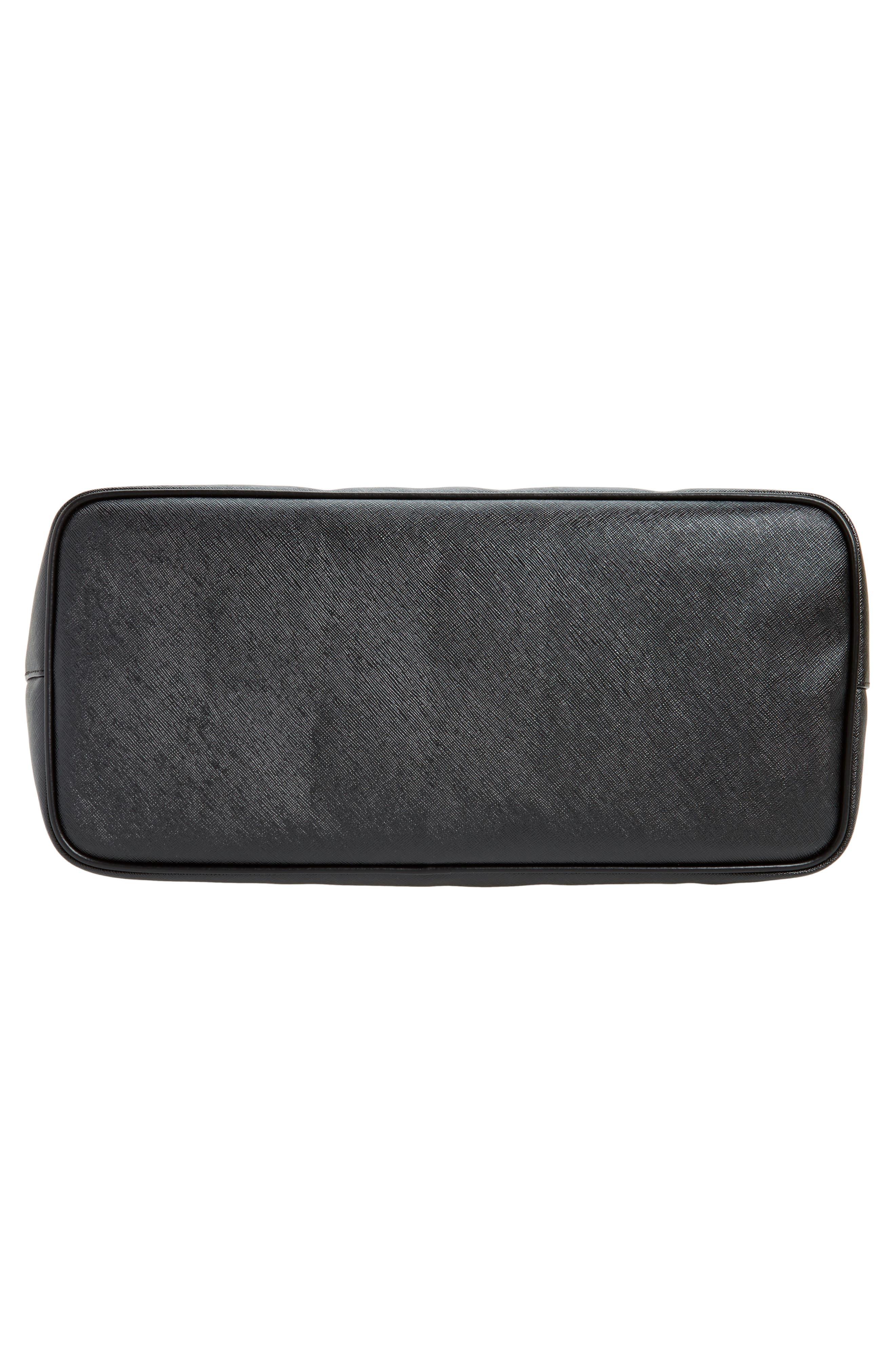 Alternate Image 5  - Givenchy Antigona Black Jaguar Print Coated Canvas Shopper