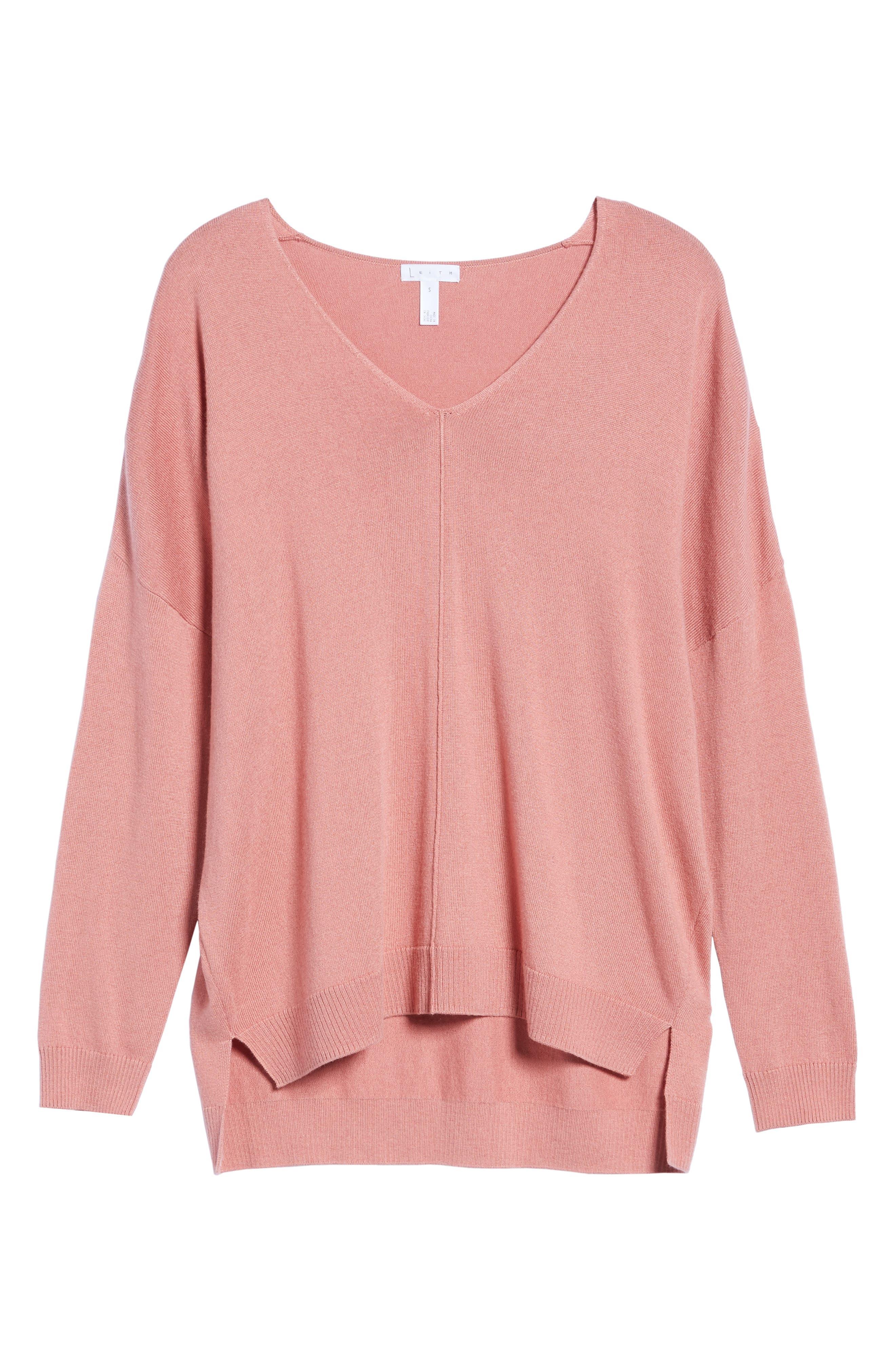 Alternate Image 6  - Leith V-Neck Sweater