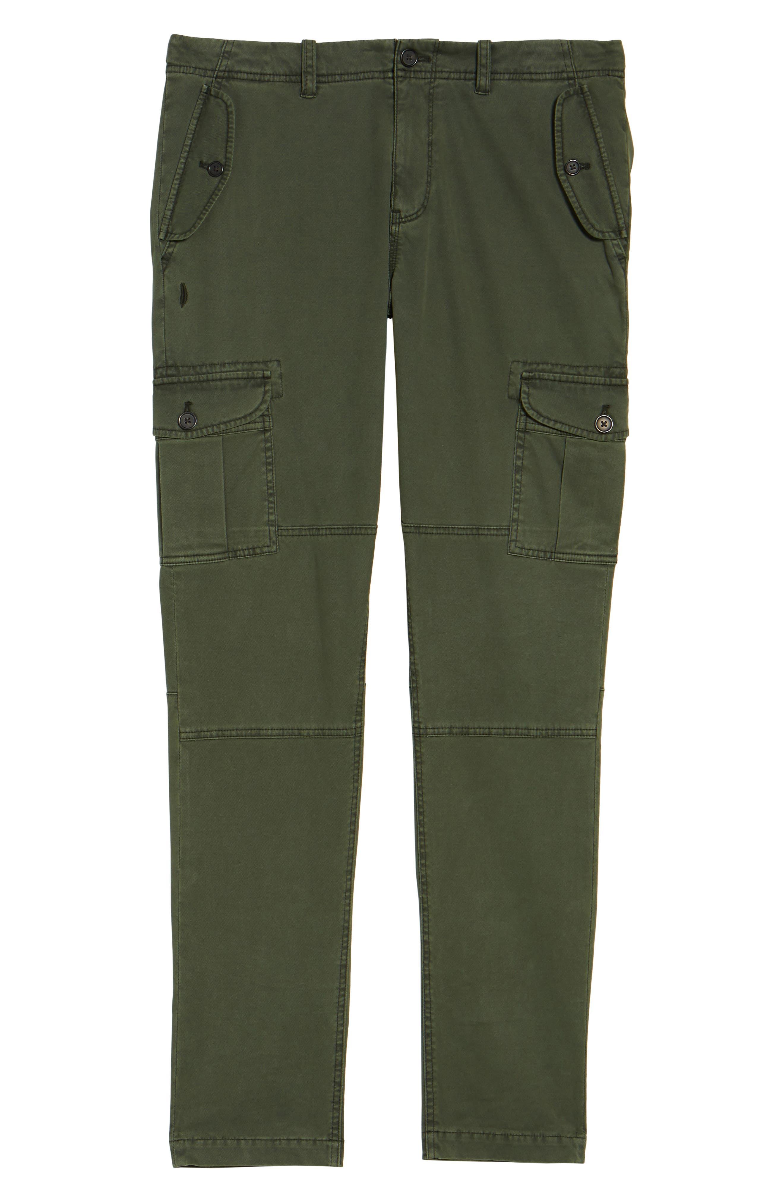 Alternate Image 6  - Michael Bastian Stretch Twill Cargo Pants