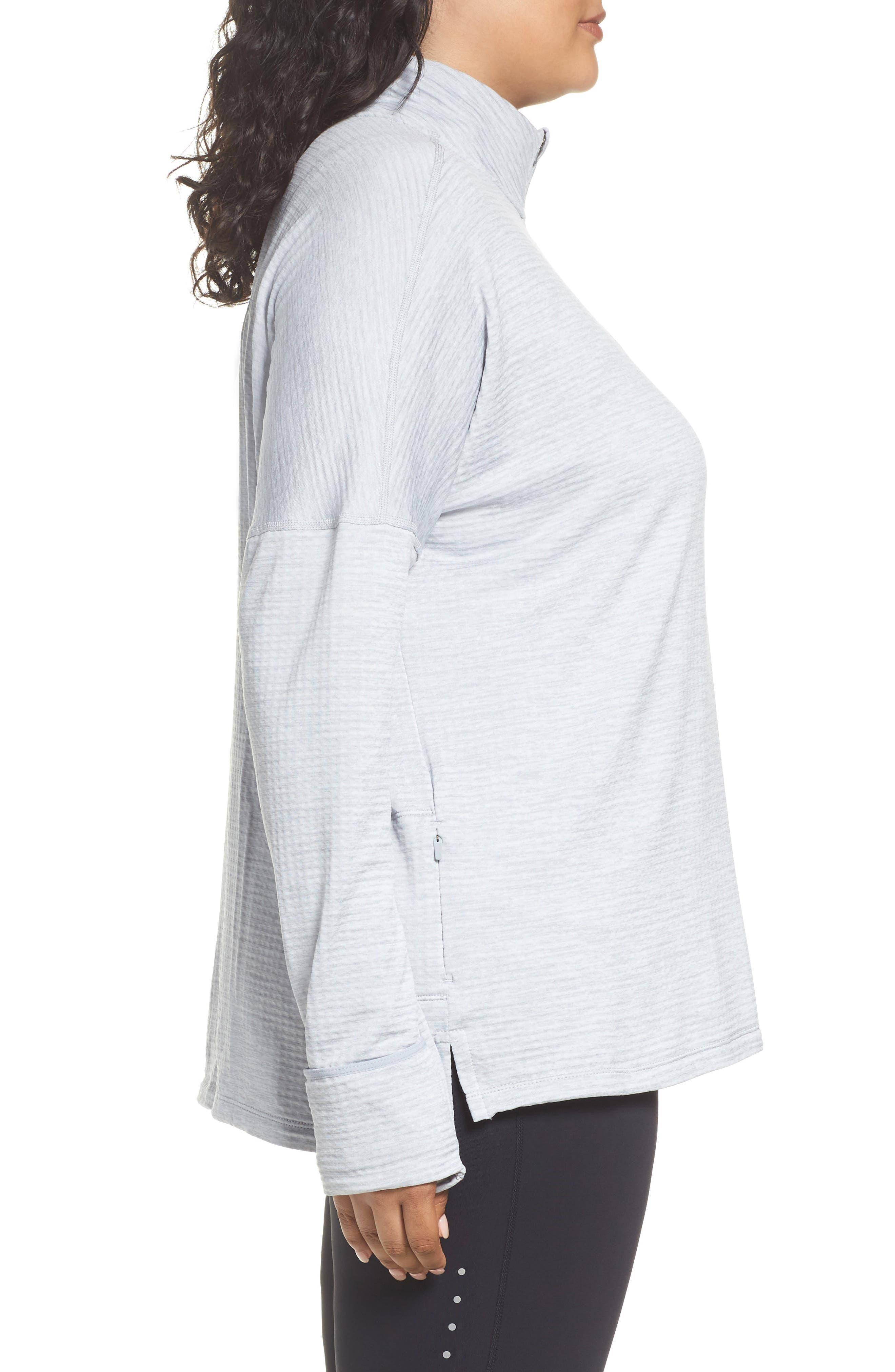 Alternate Image 3  - Nike Sphere Element Long Sleeve Running Top (Plus Size)