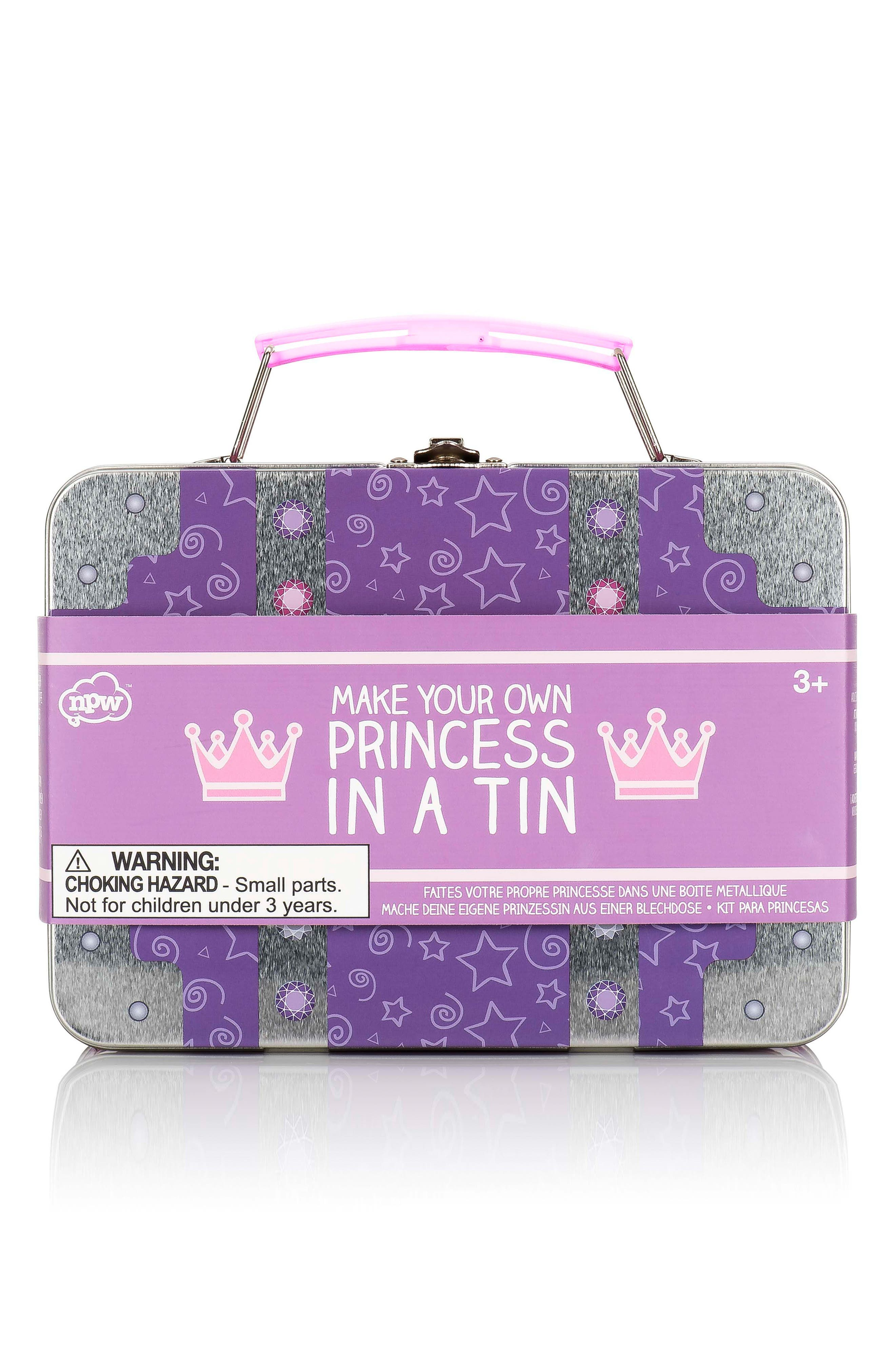 Princess in a Tin Art Set,                         Main,                         color, Purple