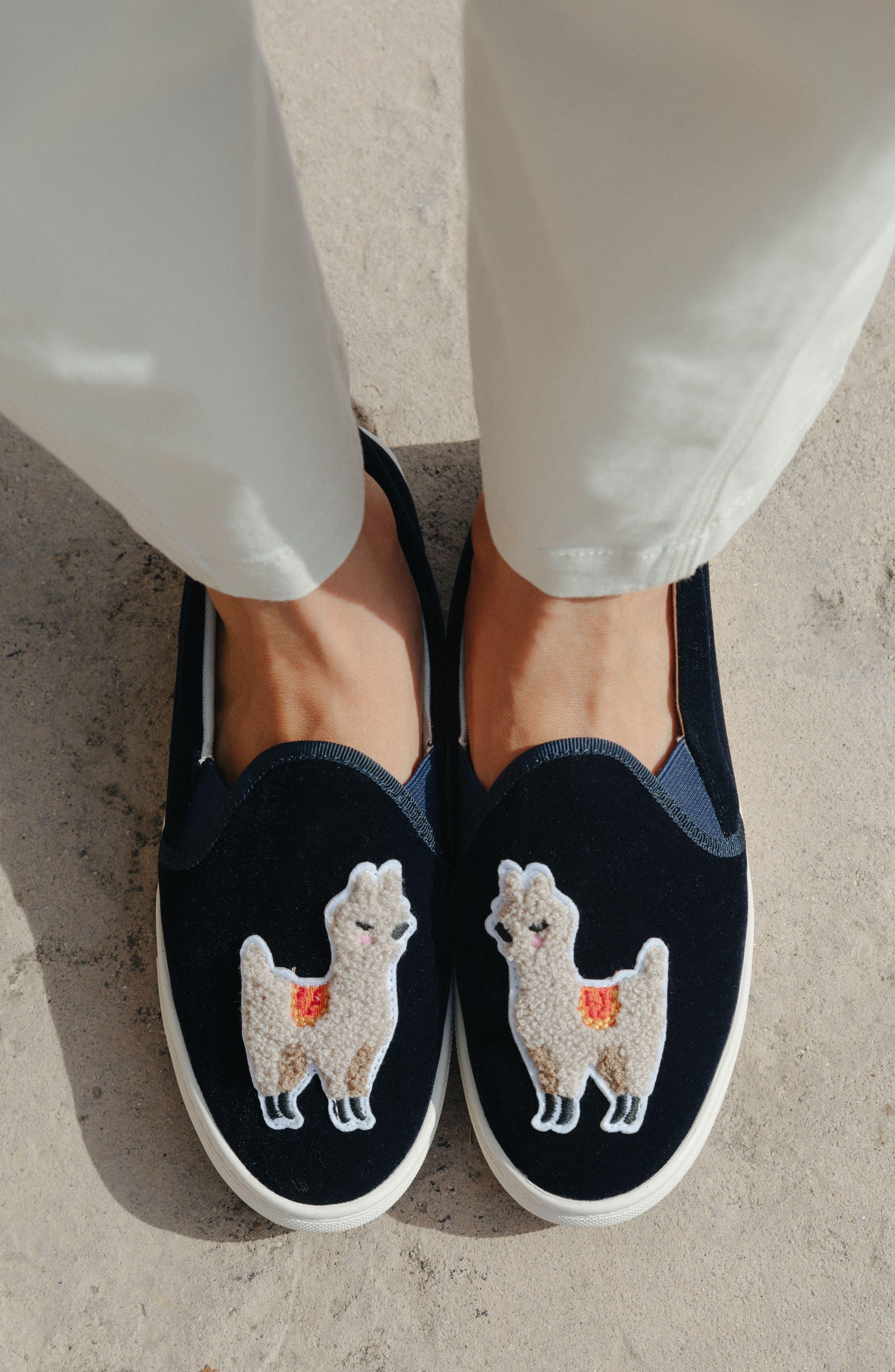 Alternate Image 9  - Soludos Velvet Sneaker (Women)