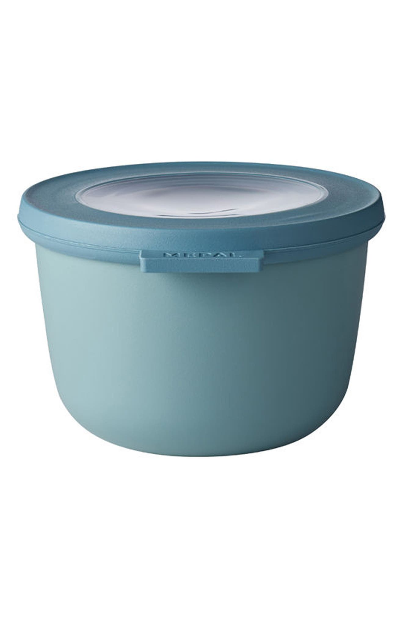 Cirqula Set of 4 Storage Bowls,                             Alternate thumbnail 2, color,                             Blue