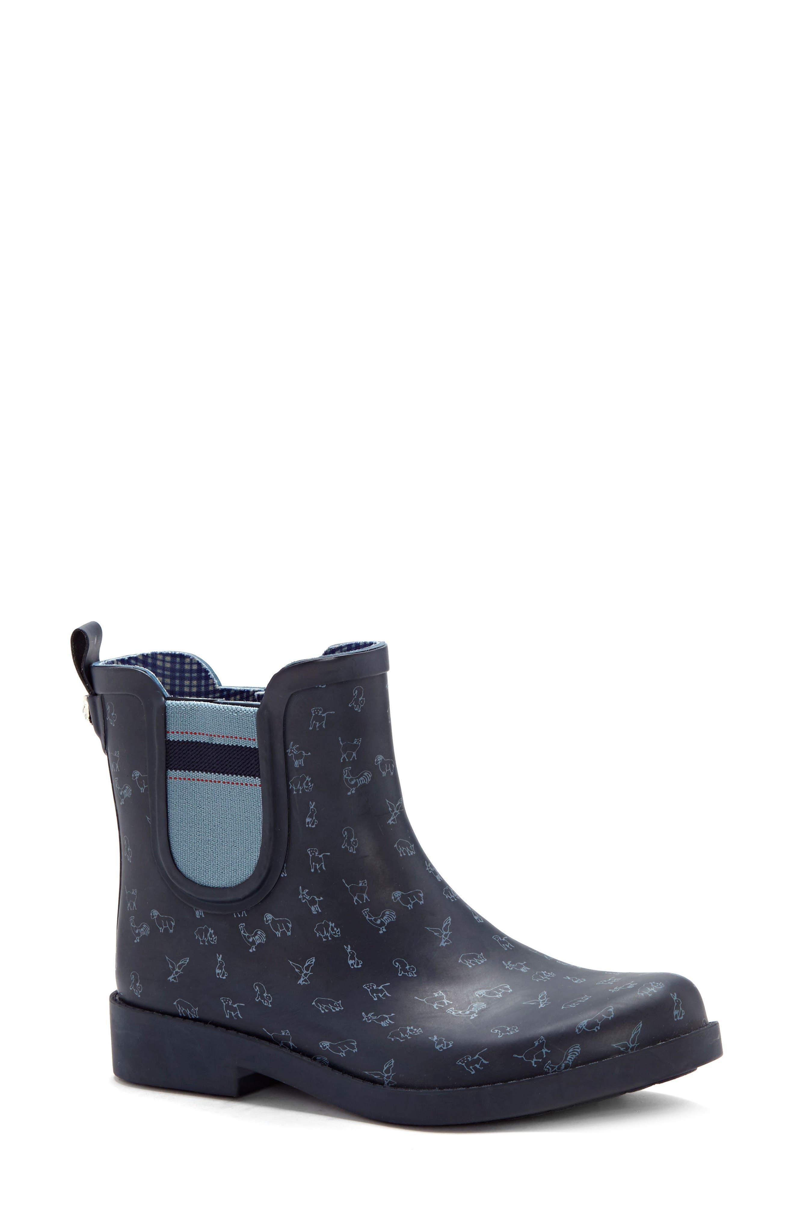 Wallita Rain Boot,                             Main thumbnail 1, color,                             Lagoon