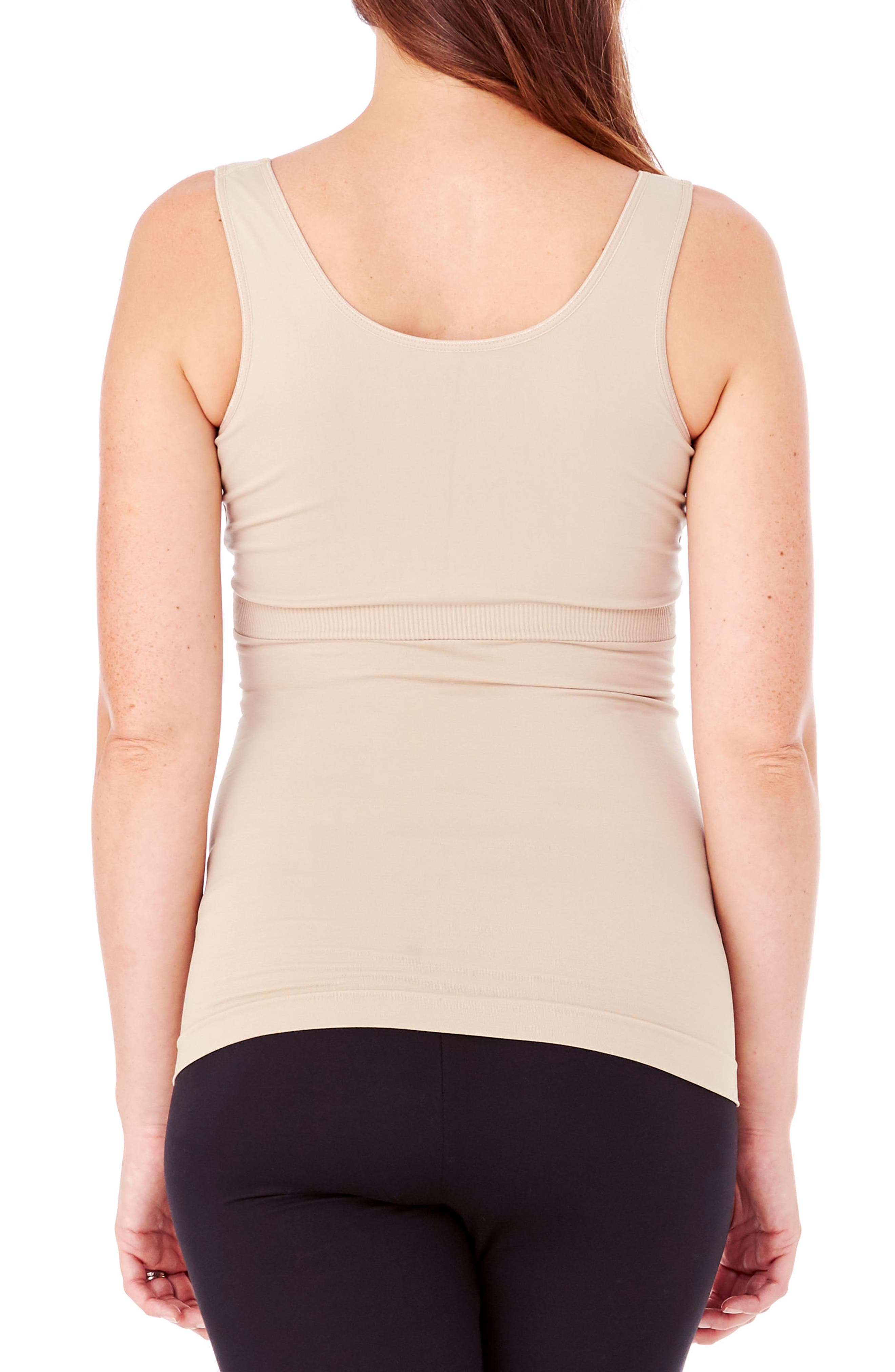 Alternate Image 2  - Ingrid & Isabel® Crossover Maternity/Nursing Tank