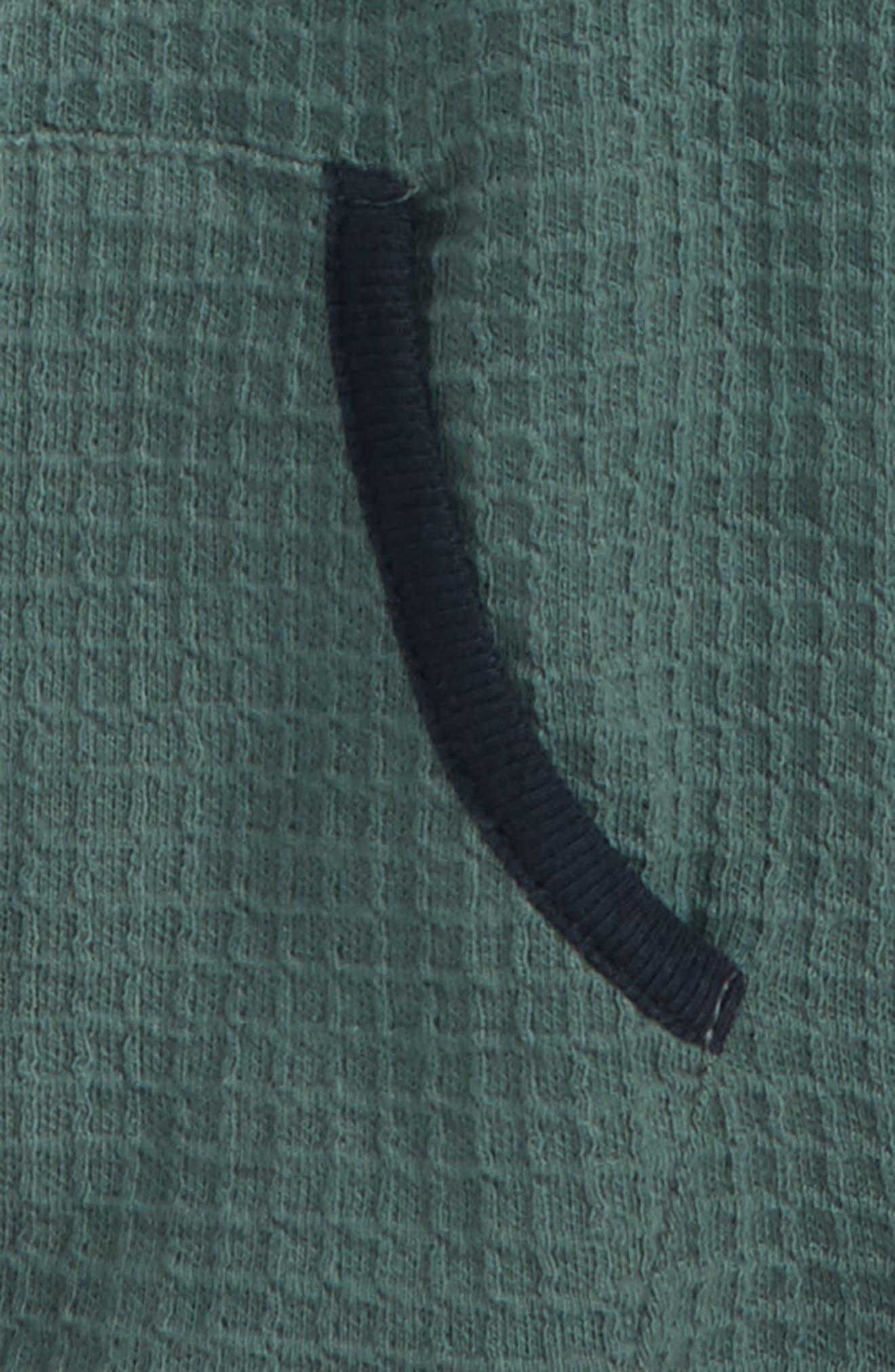 Jayden Thermal Hoodie,                             Alternate thumbnail 2, color,                             Green