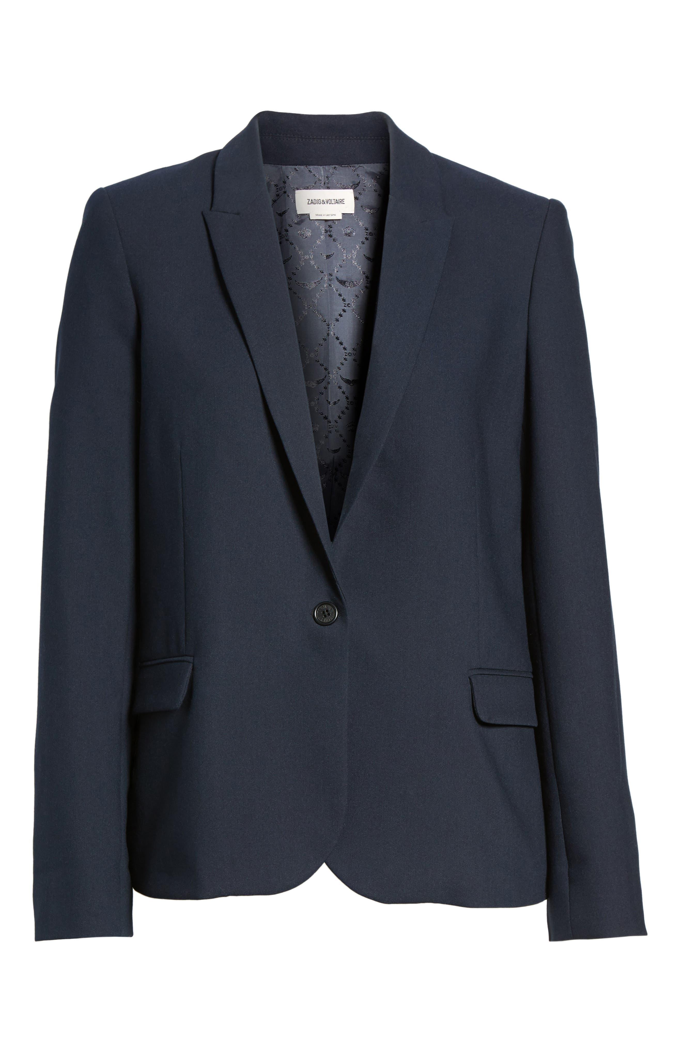 Alternate Image 6  - Zadig & Voltaire Victor Love Bis Studded Jacket