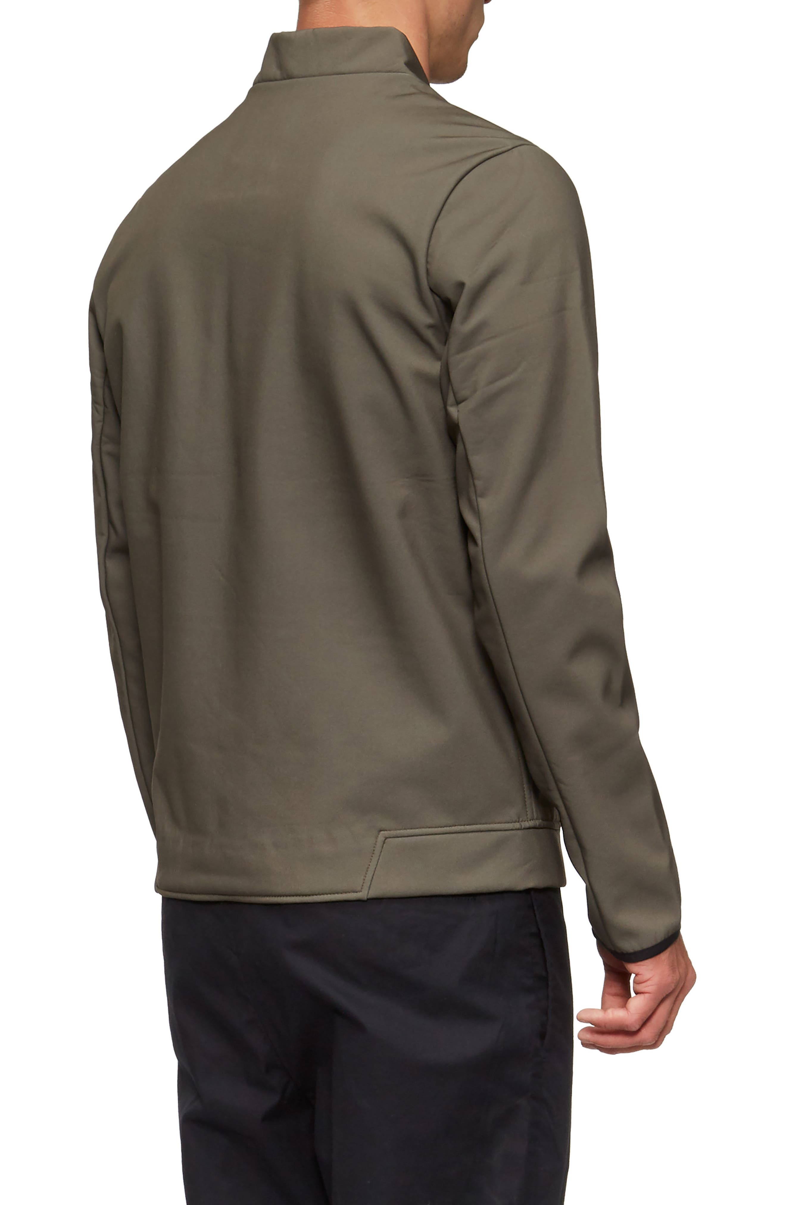 Decoy Fleece Jacket,                             Alternate thumbnail 2, color,                             Olive