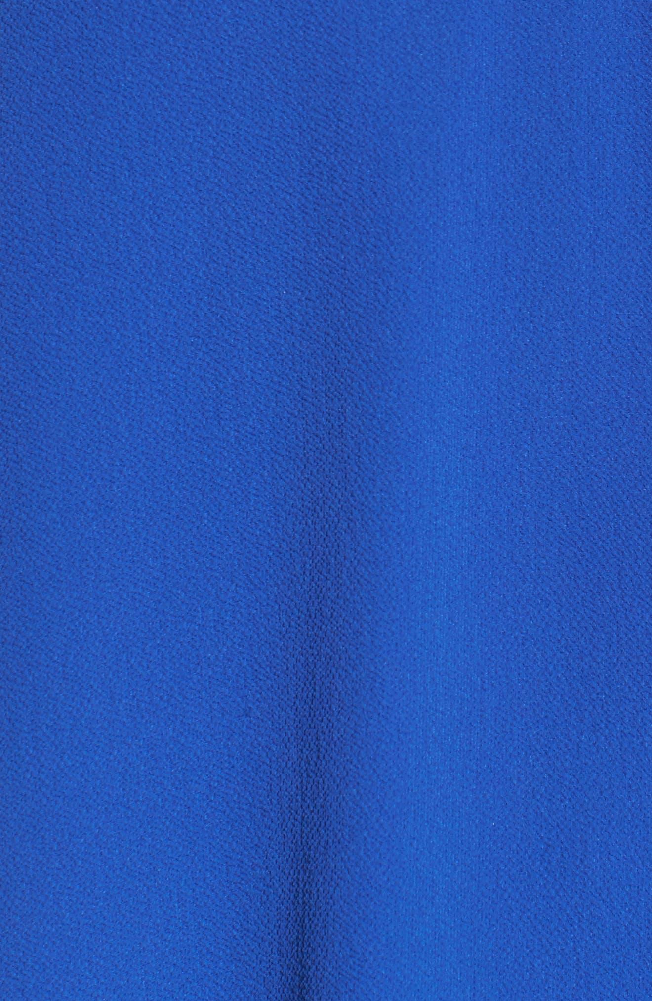 Alternate Image 5  - MICHAEL Michael Kors Lace Yoke Pleated Back Top (Plus Size)