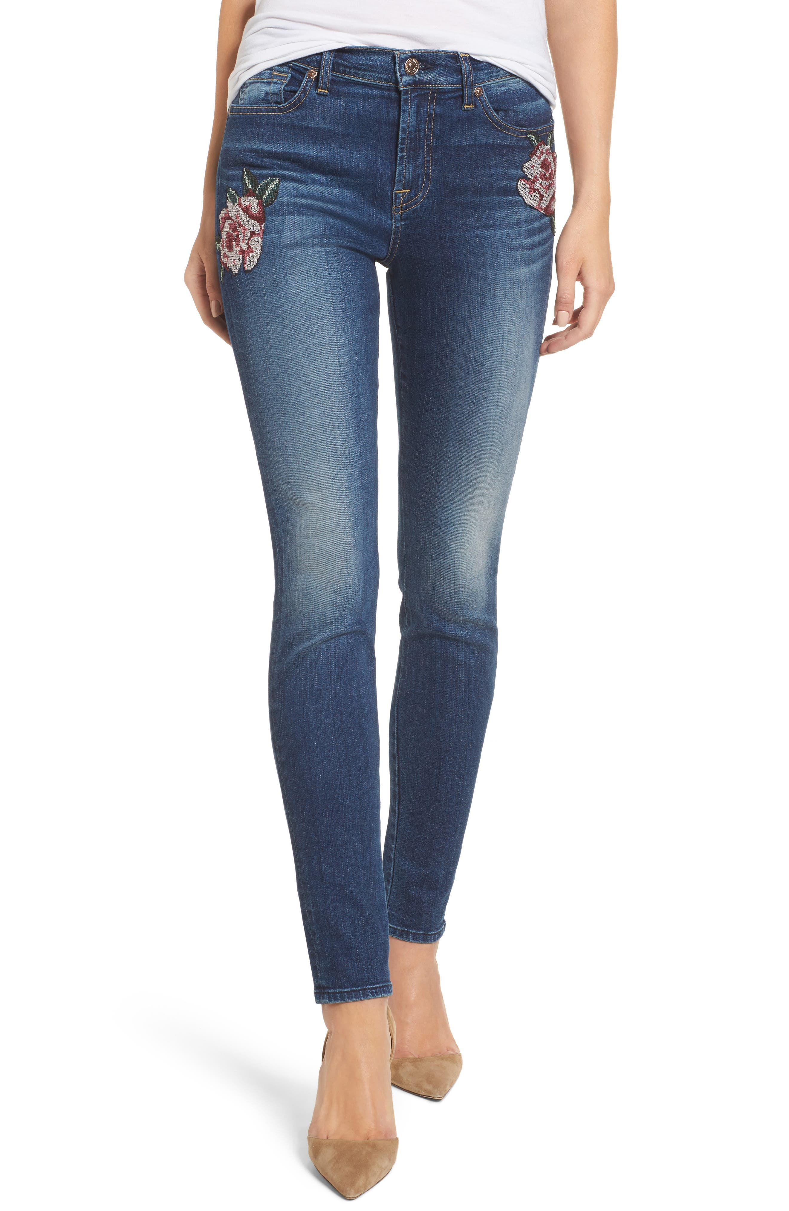 7 For All Mankind® The Skinny Needlepoint Jeans (Liberty 2)