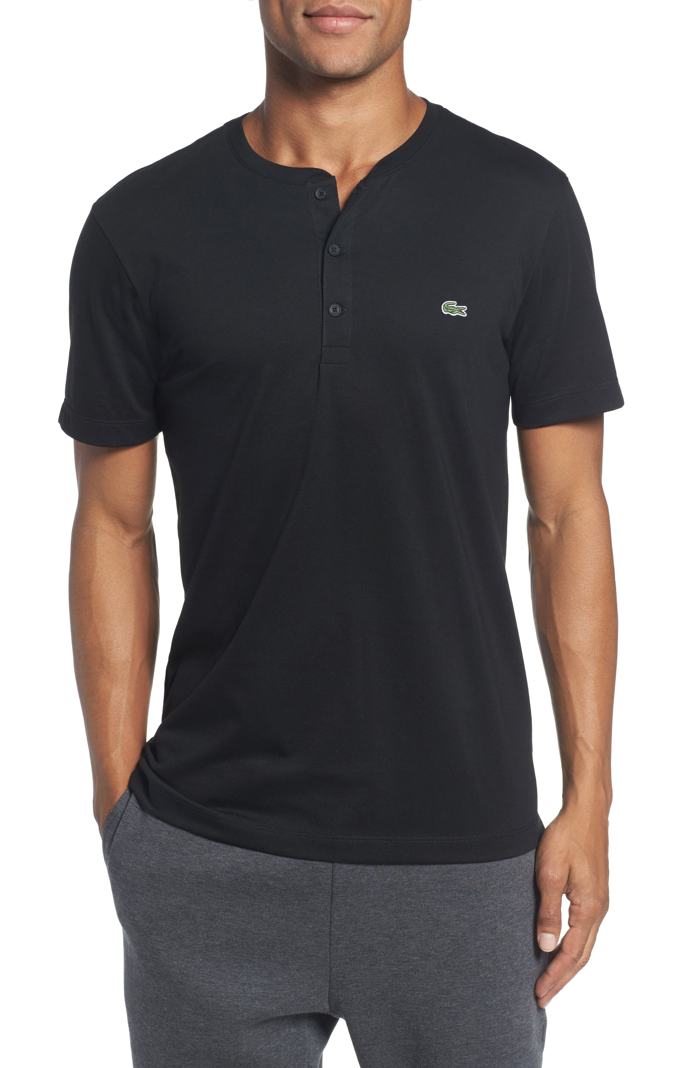 Main Image - Lacoste Henley T-Shirt