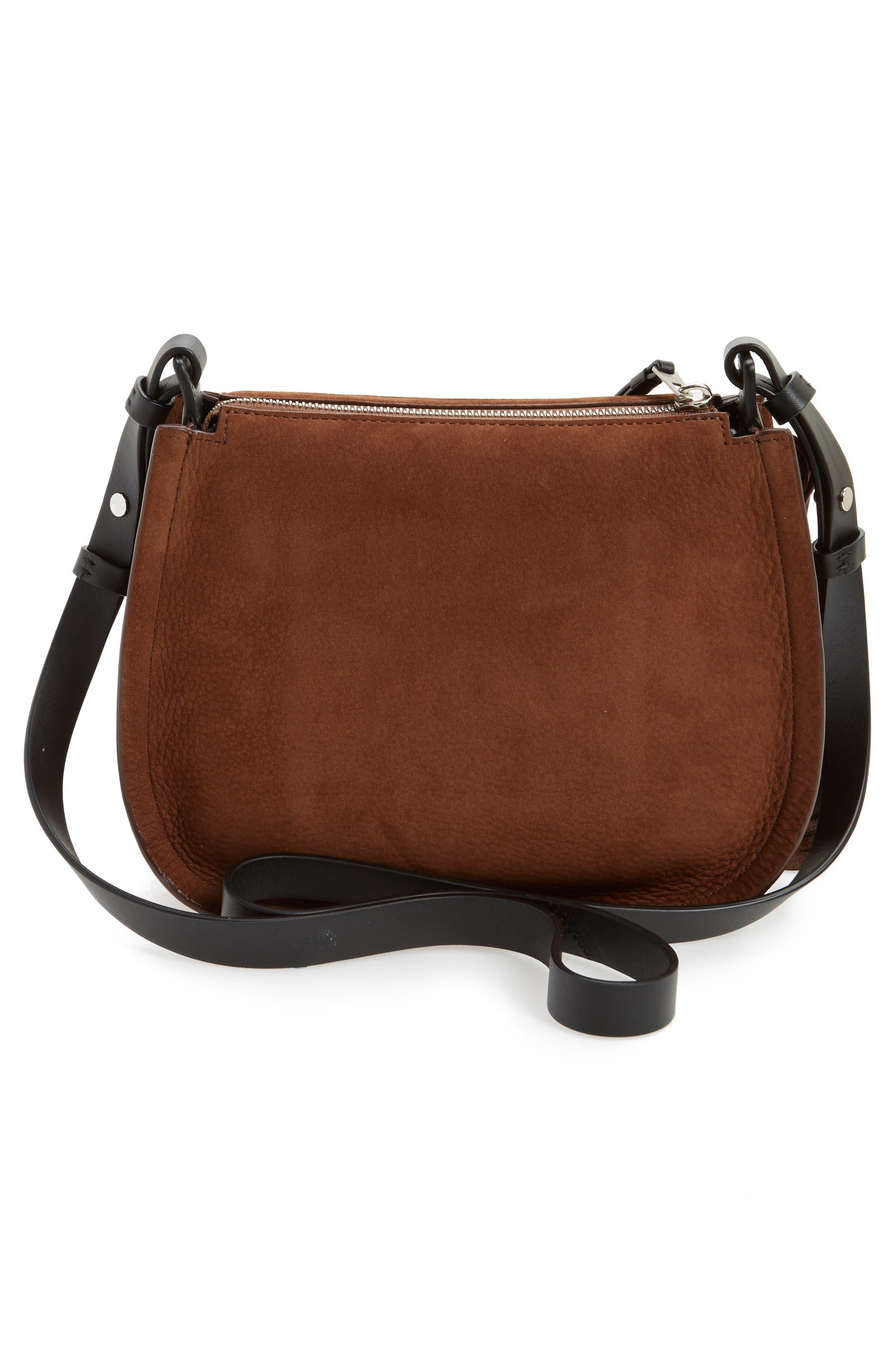 Alternate Image 2  - ALLSAINTS Mori Suede Crossbody Bag