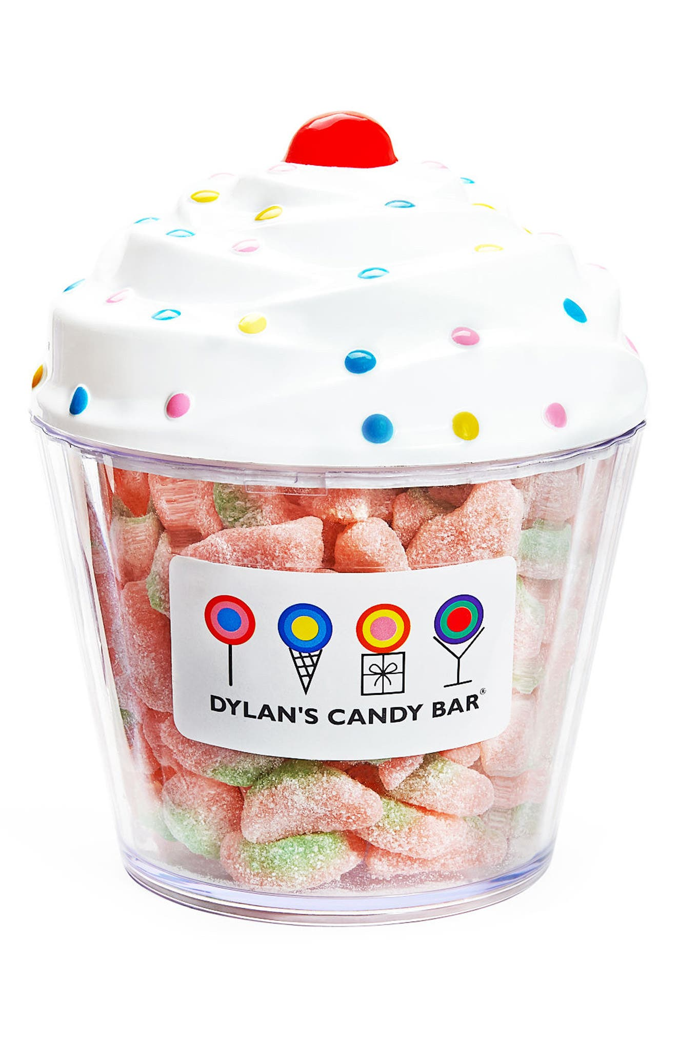 Dylan's Candy Bar Sour Watermelon Slices Cupcake