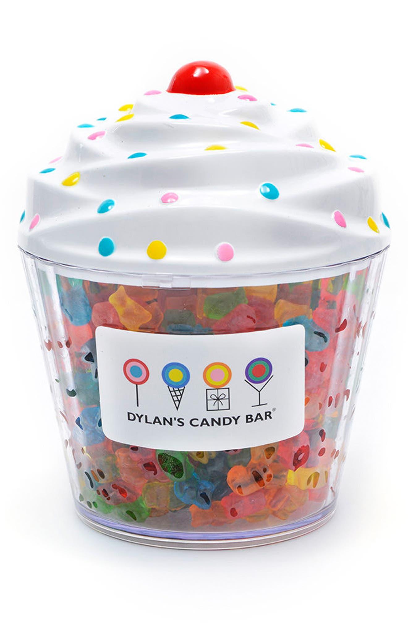 Dylan's Candy Bar Gummy Bears Cupcake