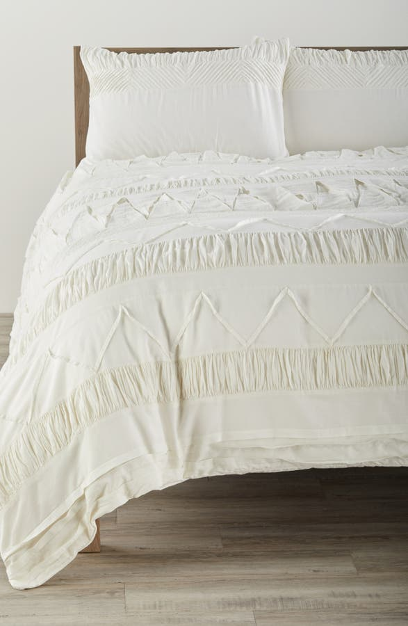 Main Image Nordstrom At Home Textured Duvet Cover
