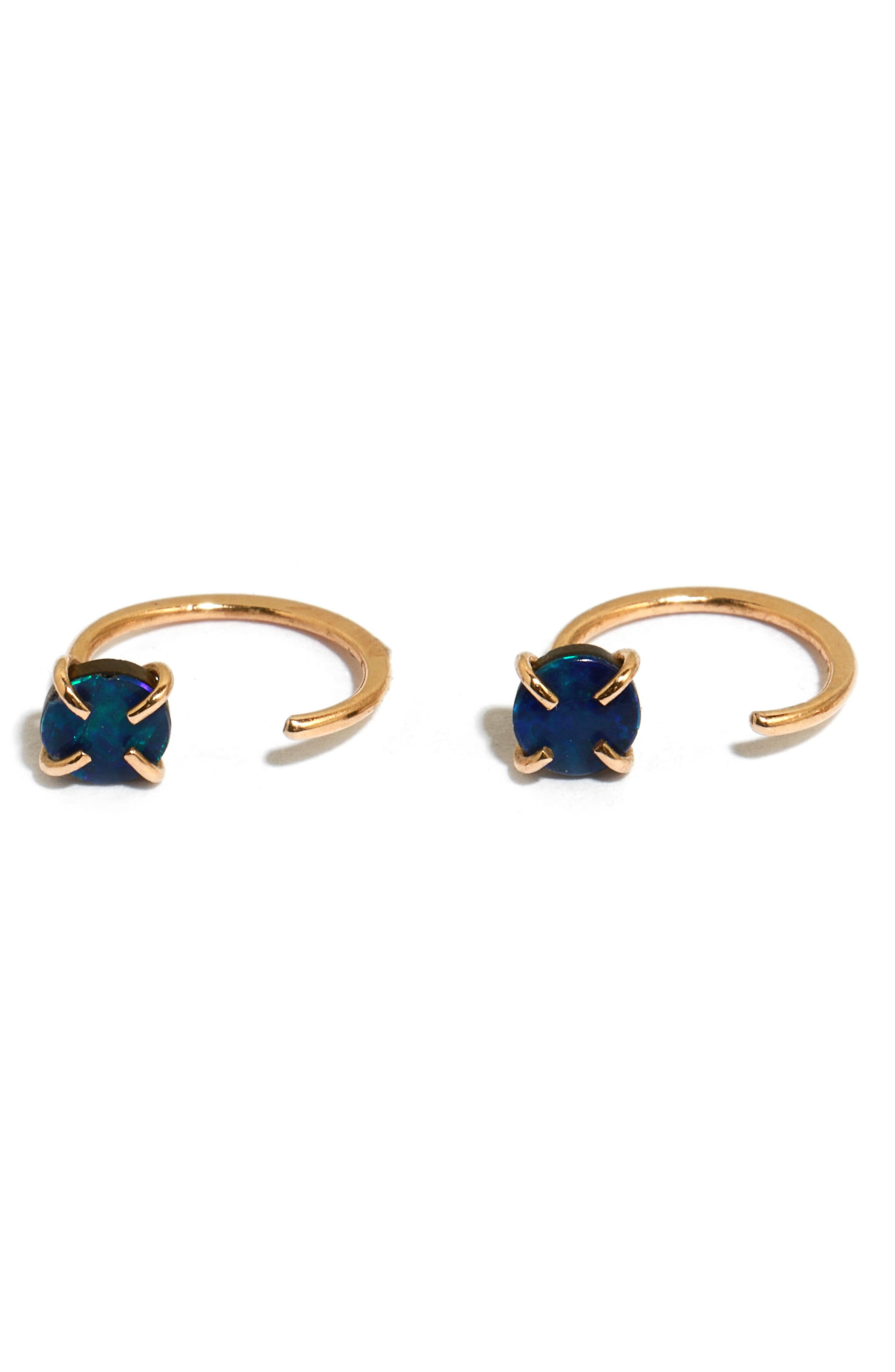 Small Hoop Earrings,                         Main,                         color, Yellow Gold