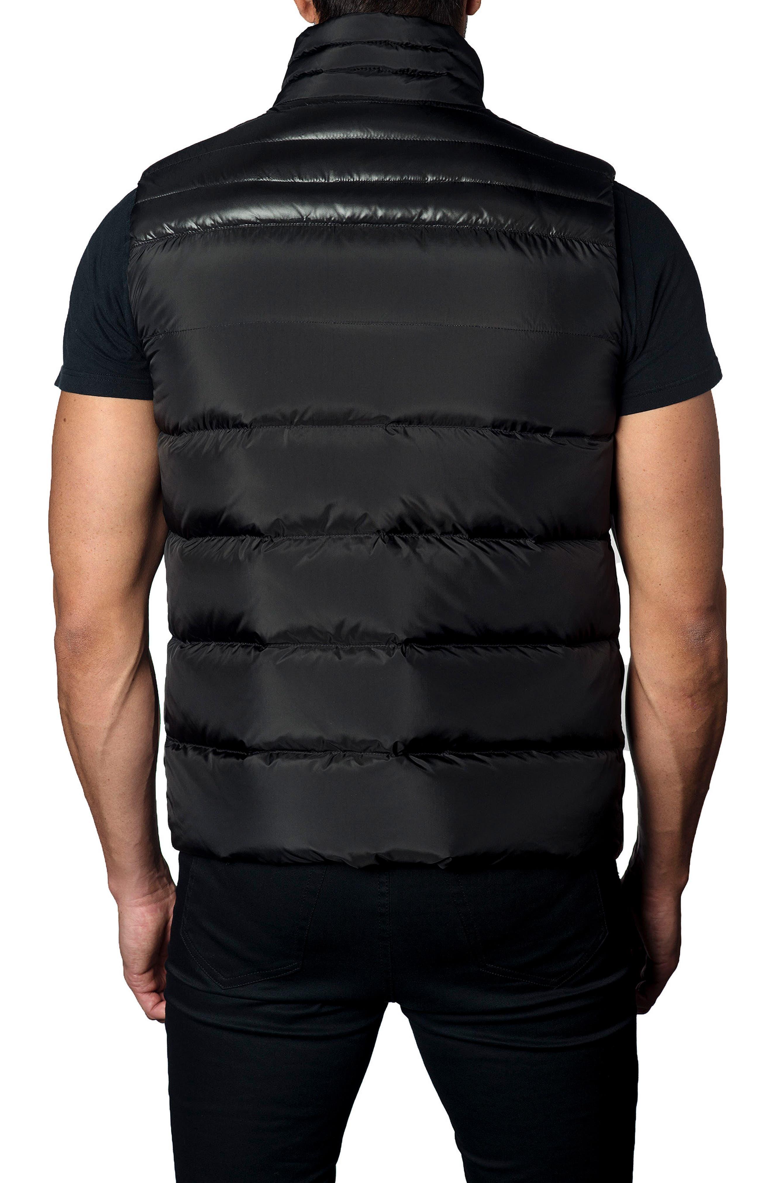 Down Puffer Vest,                             Alternate thumbnail 2, color,                             Black