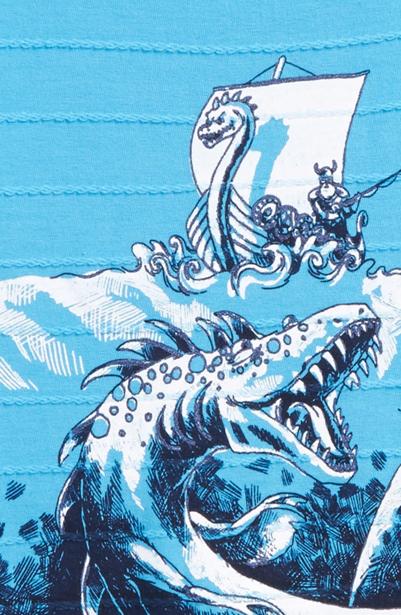 Alternate Image 2  - Hatley Viking Fishing T-Shirt (Toddler Boys, Little Boys & Big Boys)