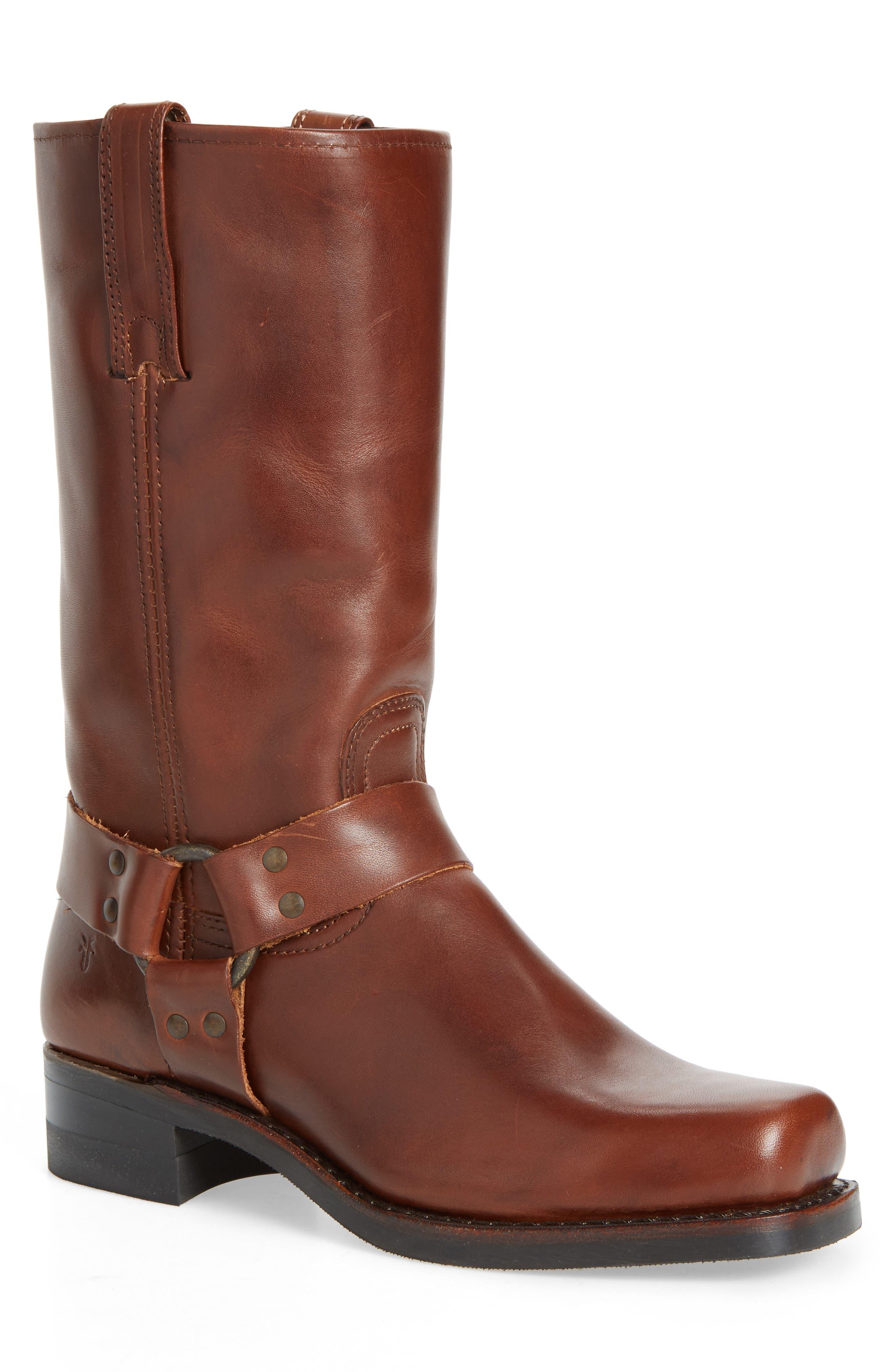 12R Harness Boot,                         Main,                         color, Walnut