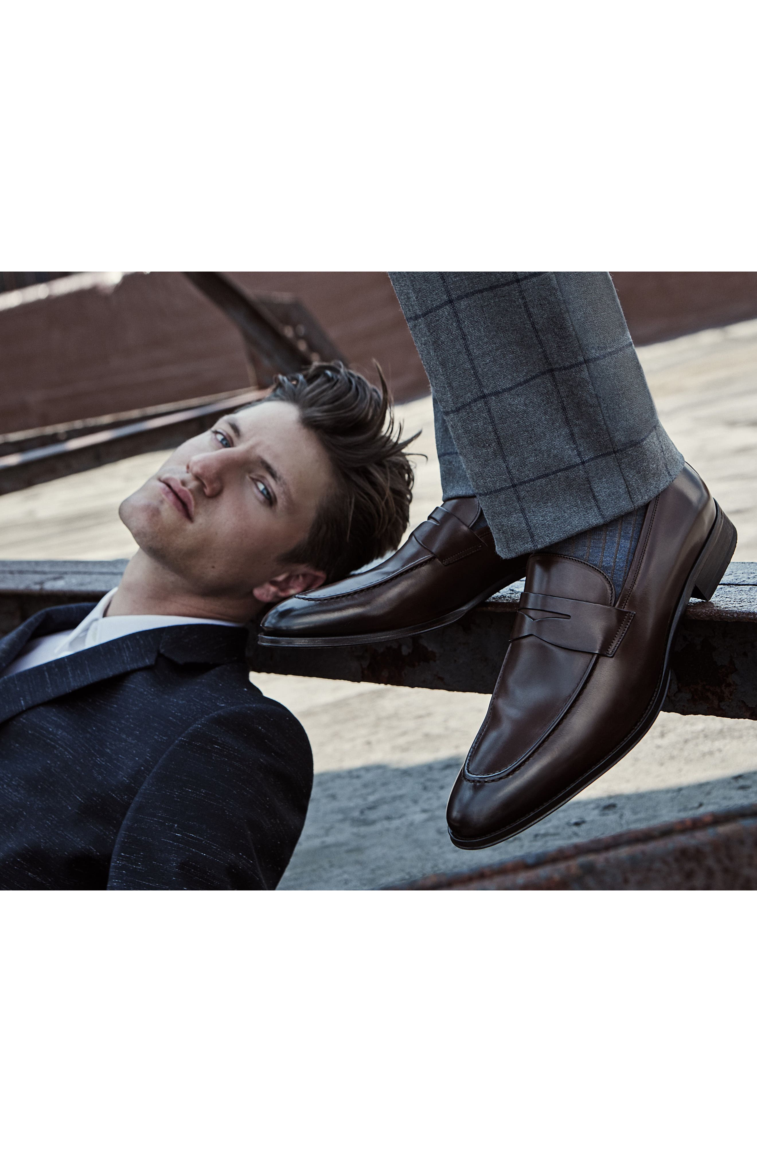 Alternate Image 7  - To Boot New York Alexander Penny Loafer (Men)