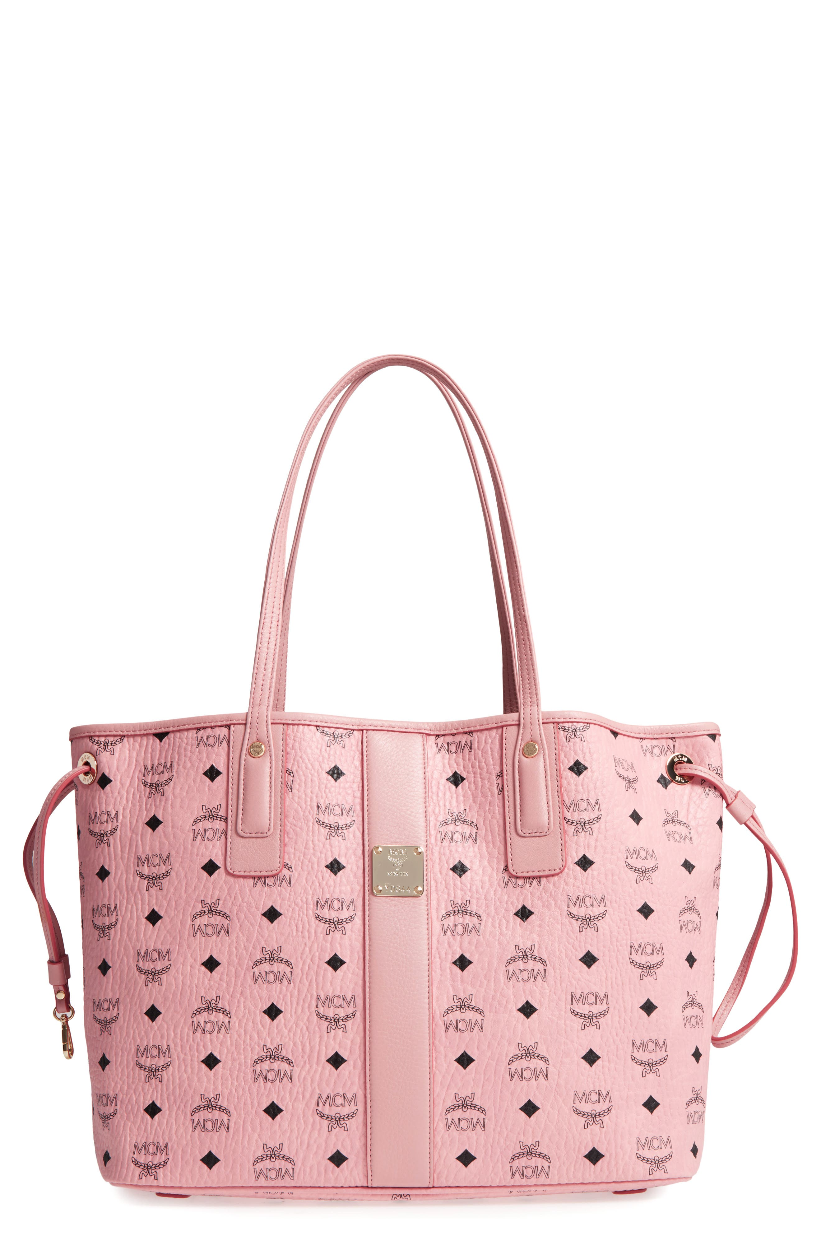 Main Image - MCM Medium Liz Reversible Visetos Coated Canvas Shopper