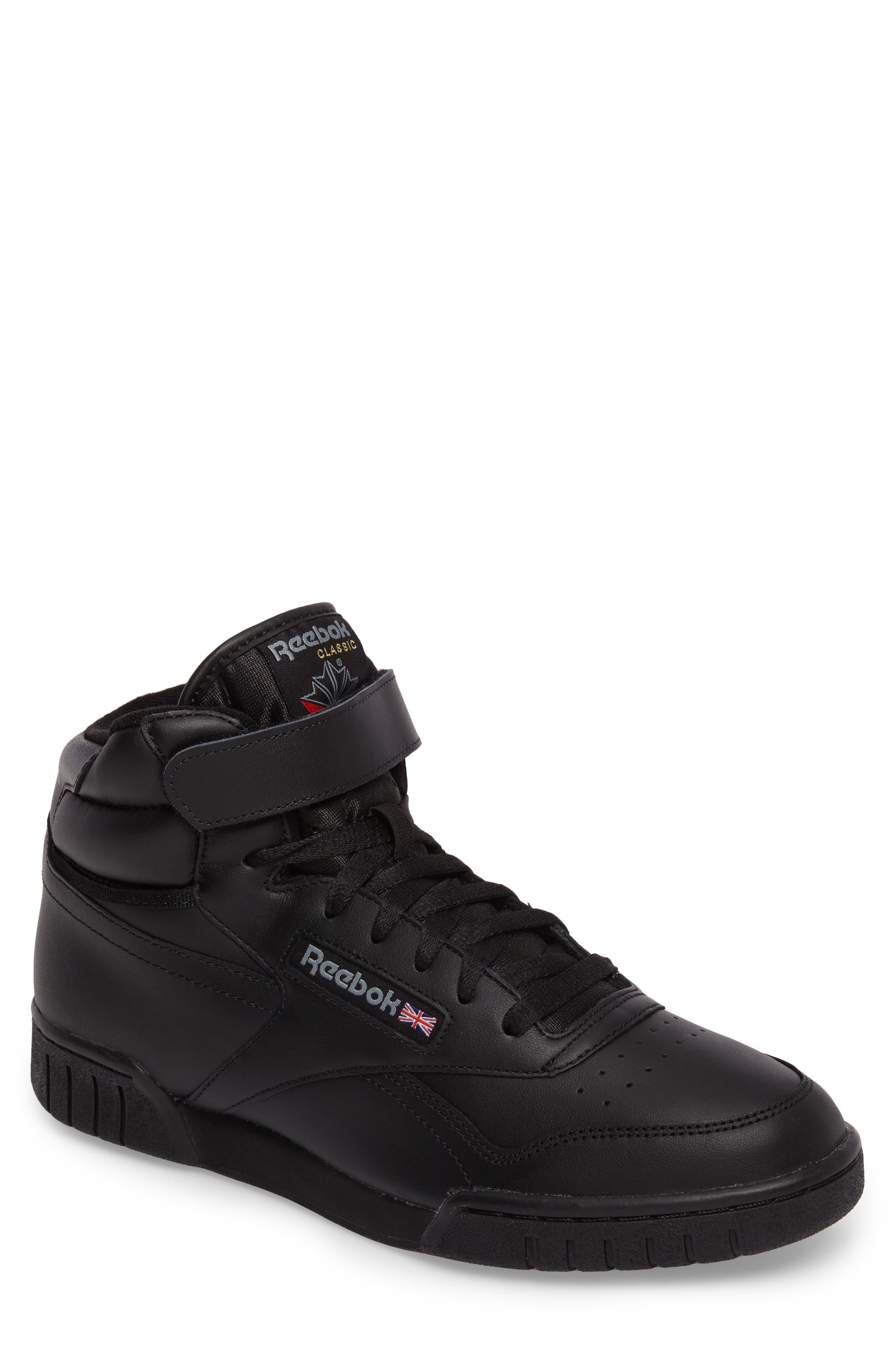 Ex-O-Fit Hi Sneaker,                             Main thumbnail 1, color,                             Black