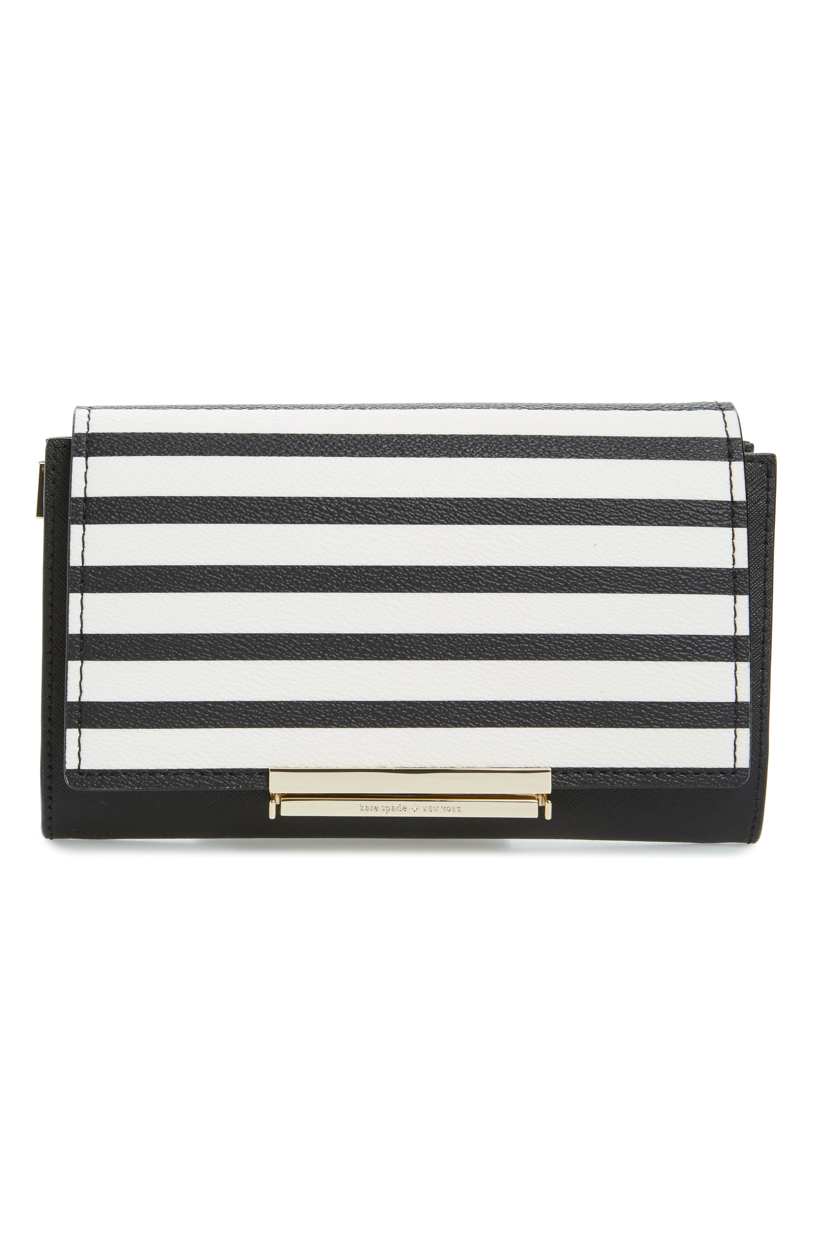 Alternate Image 2  - kate spade new york make it mine stripe snap-on accent flap