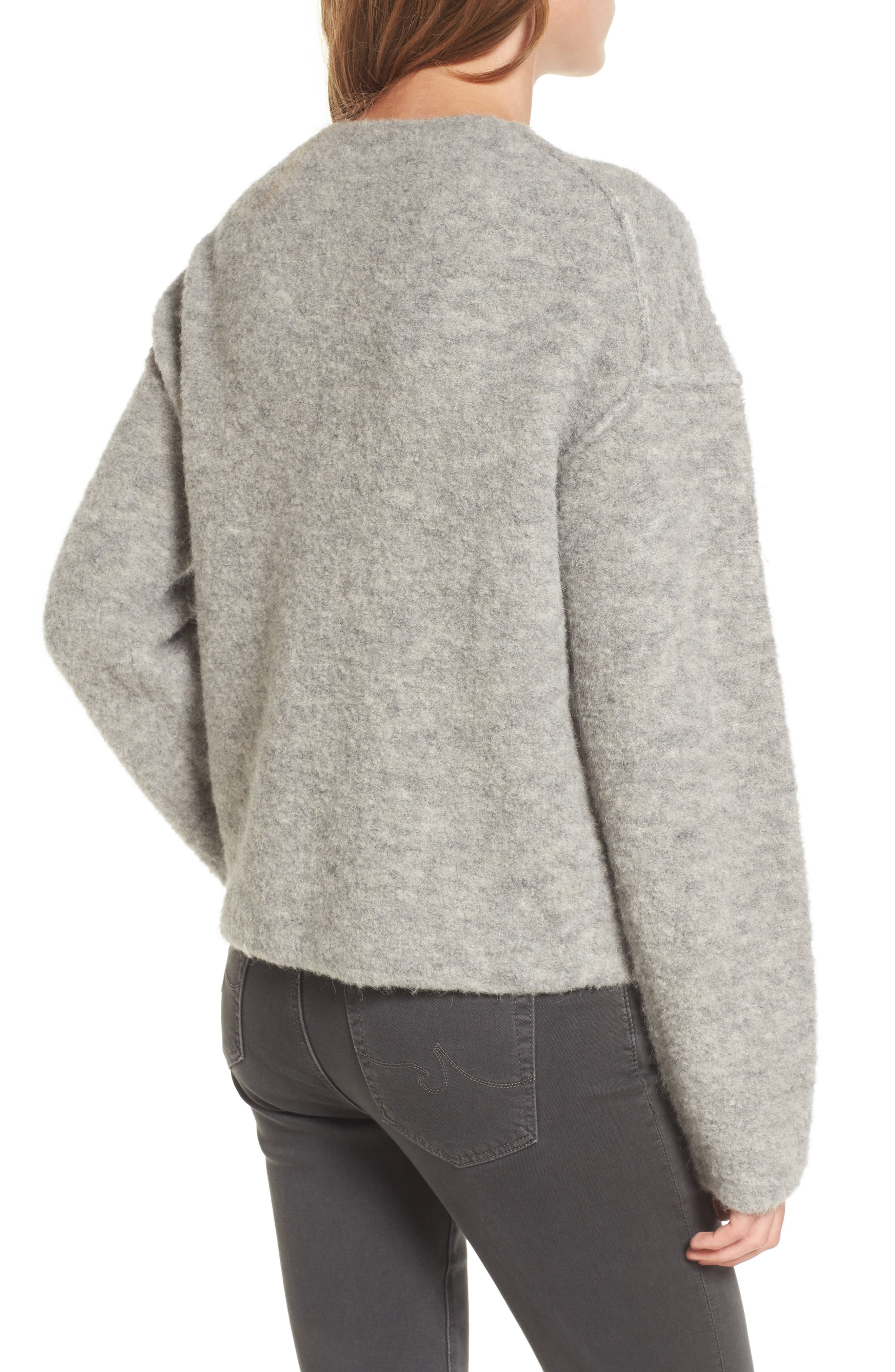 Skye Sweater,                             Alternate thumbnail 2, color,                             Heather Grey