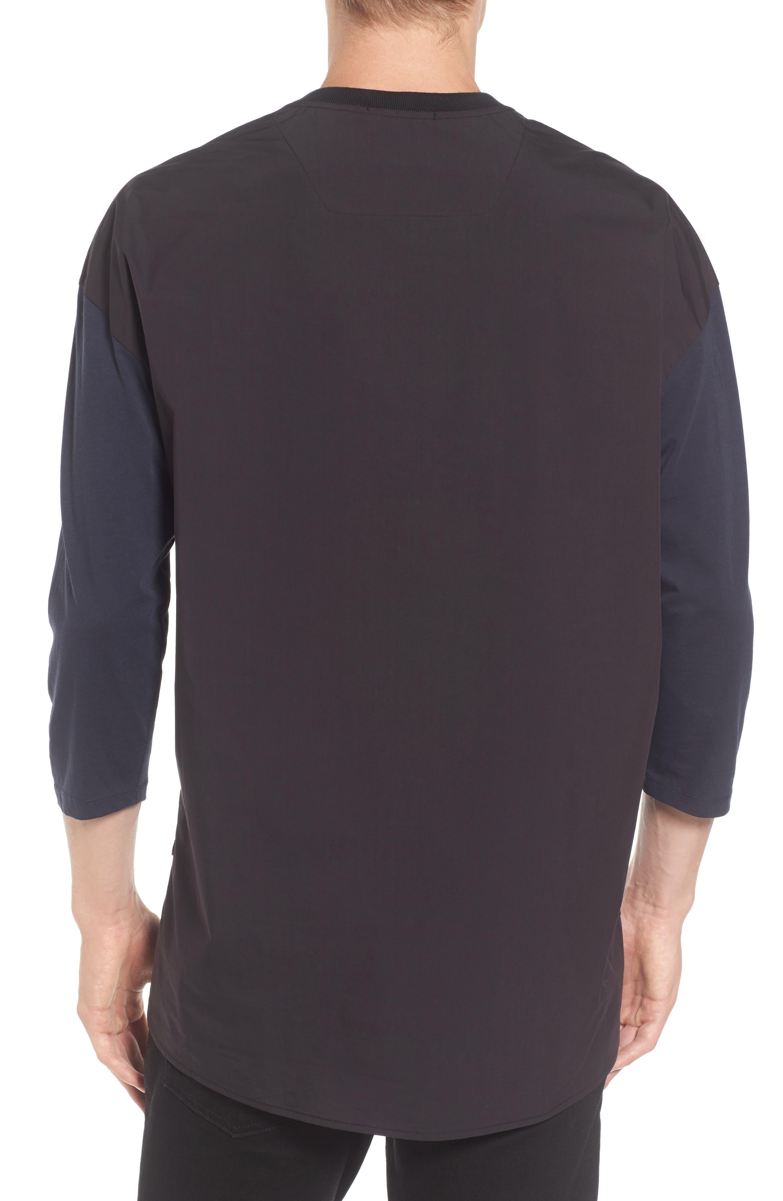 Alternate Image 2  - Scotch & Soda Two-Tone T-Shirt