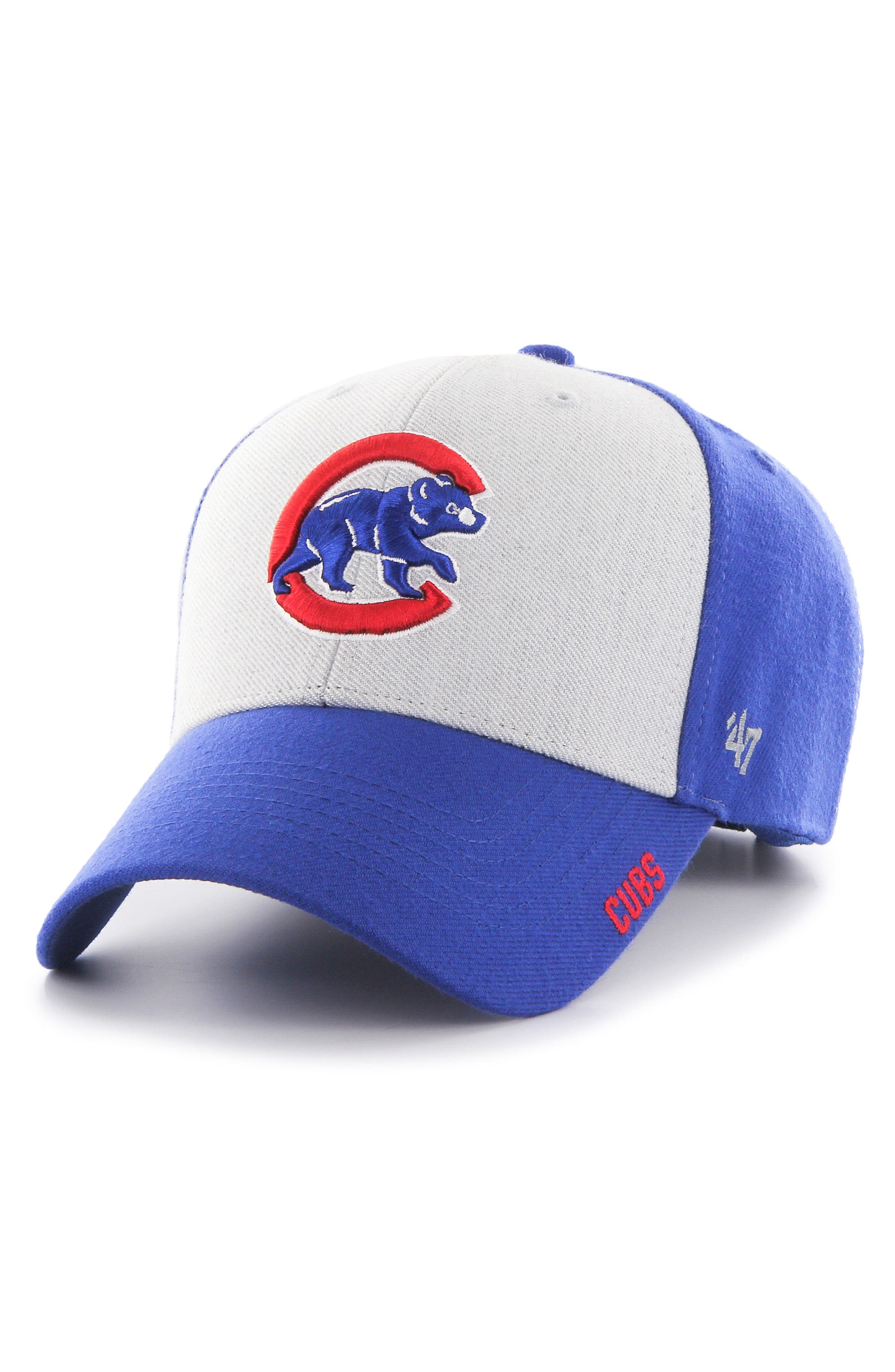 Chicago Cubs Ice Clean Up Baseball Cap,                         Main,                         color, Royal