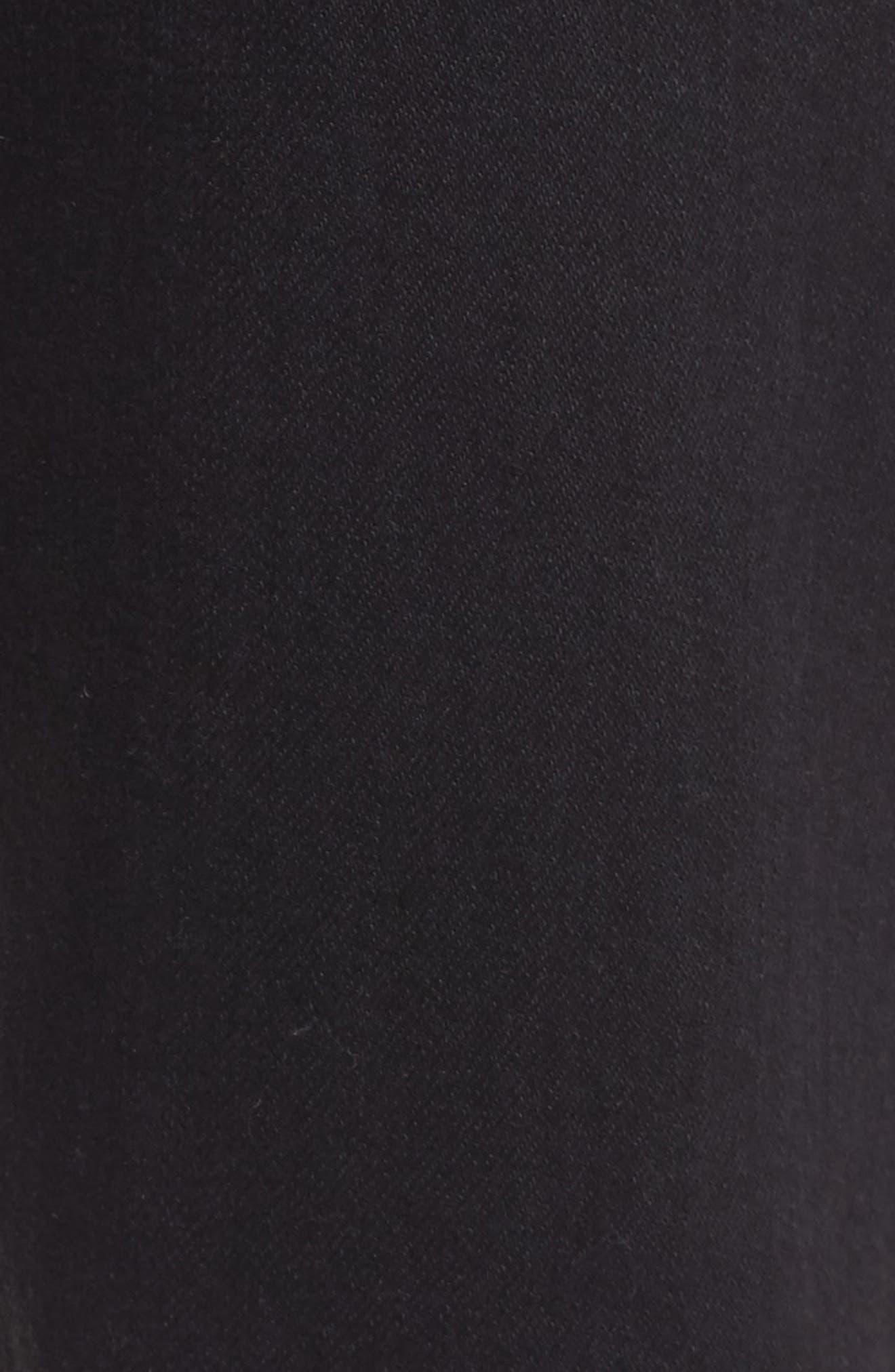 Alternate Image 5  - Hudson Jeans Vaughn Biker Skinny Fit Jeans (Gamble)