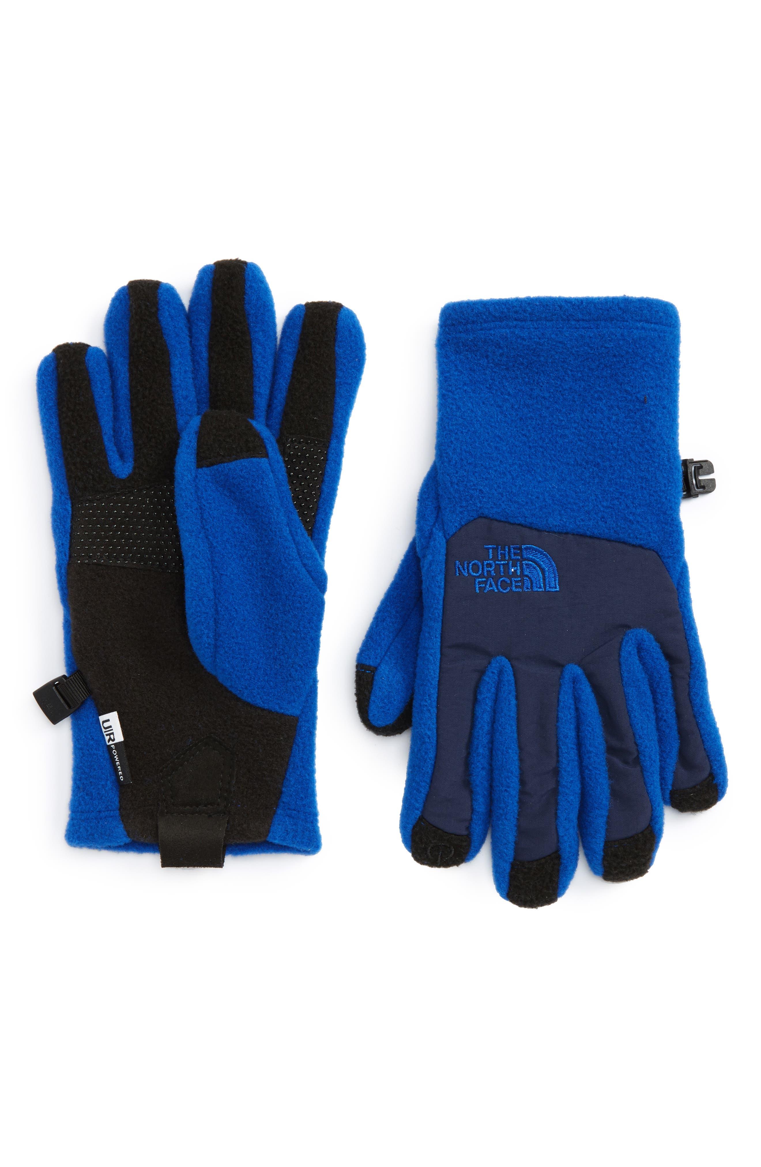 Denali Etip Gloves,                         Main,                         color, Cobalt Blue/ Cosmic Blue