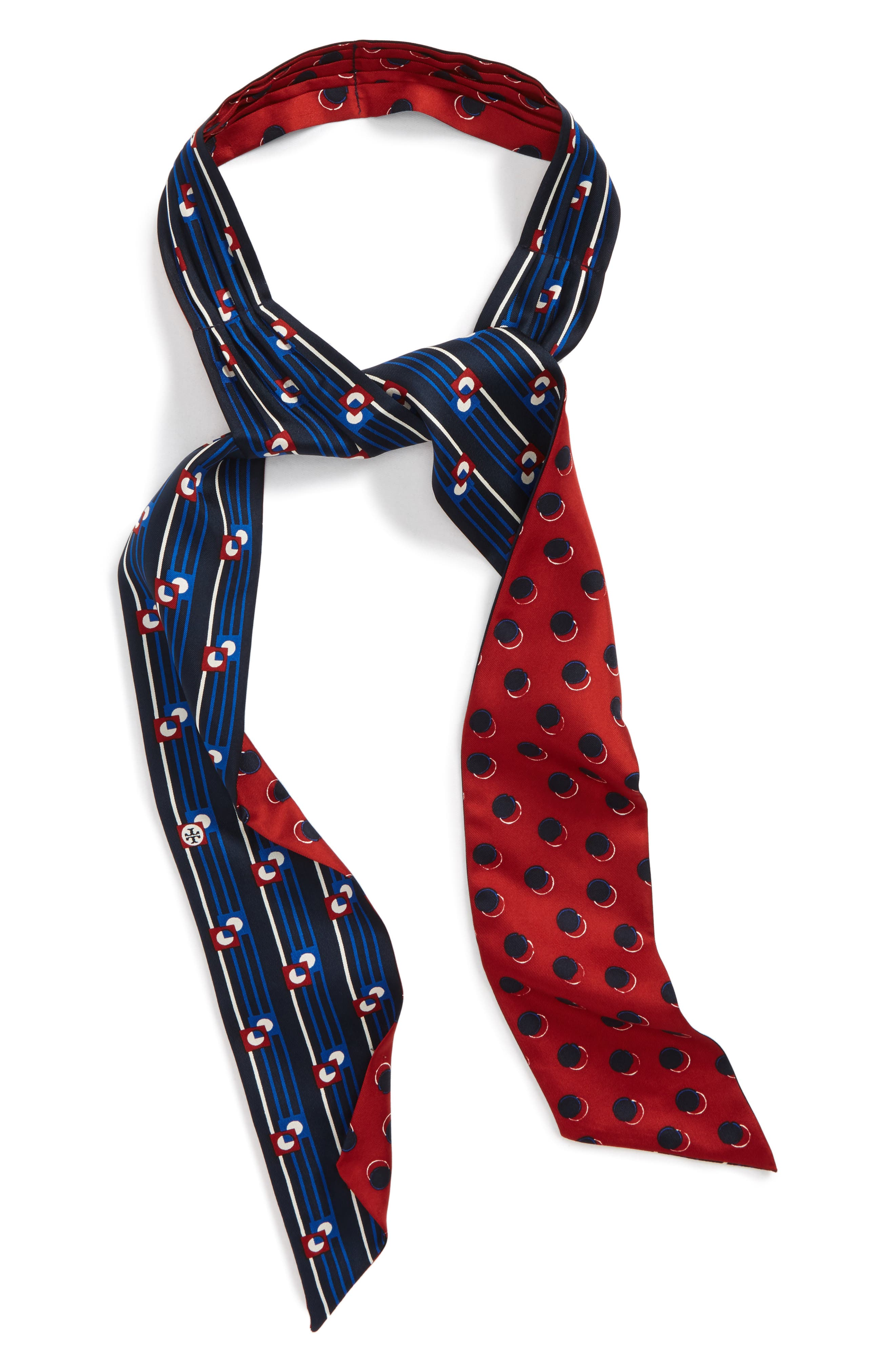 Tory Burch Deco Dot Silk Necktie