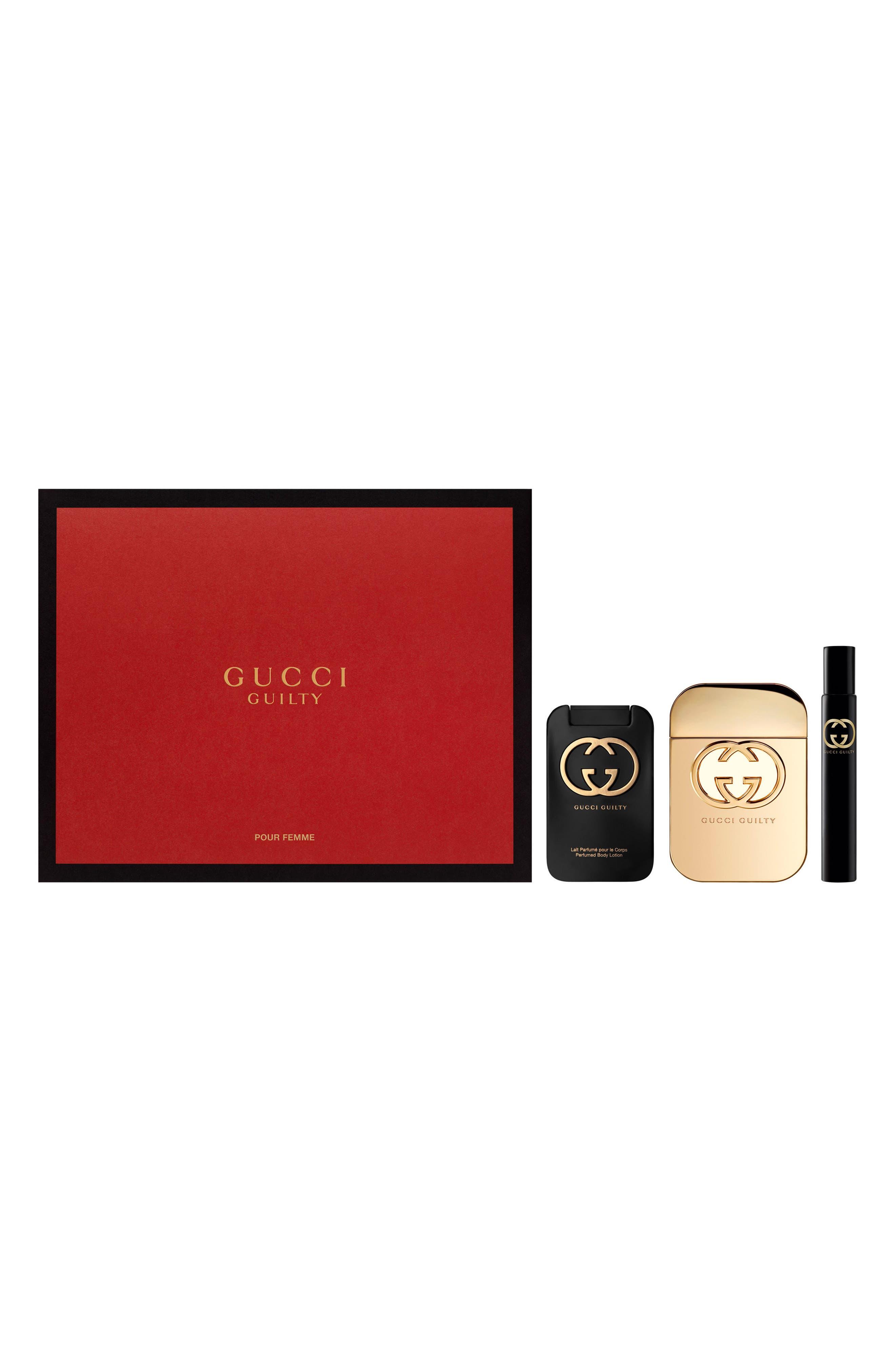 Alternate Image 1 Selected - Gucci Guilty Eau de Toilette pour Femme Set ($161 Value)