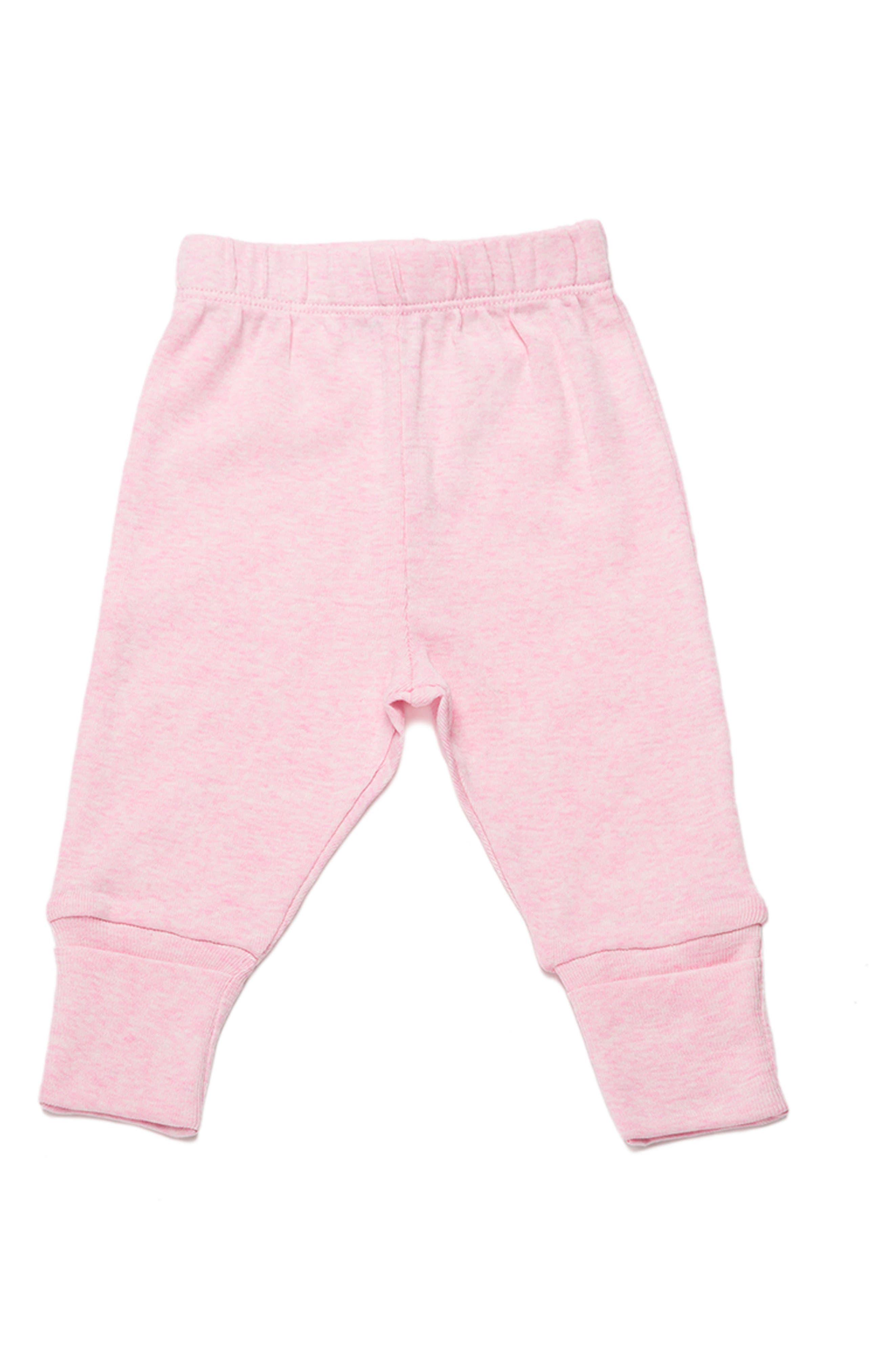 Monica + Andy Hello Baby Organic Cotton Pants (Baby Girls)