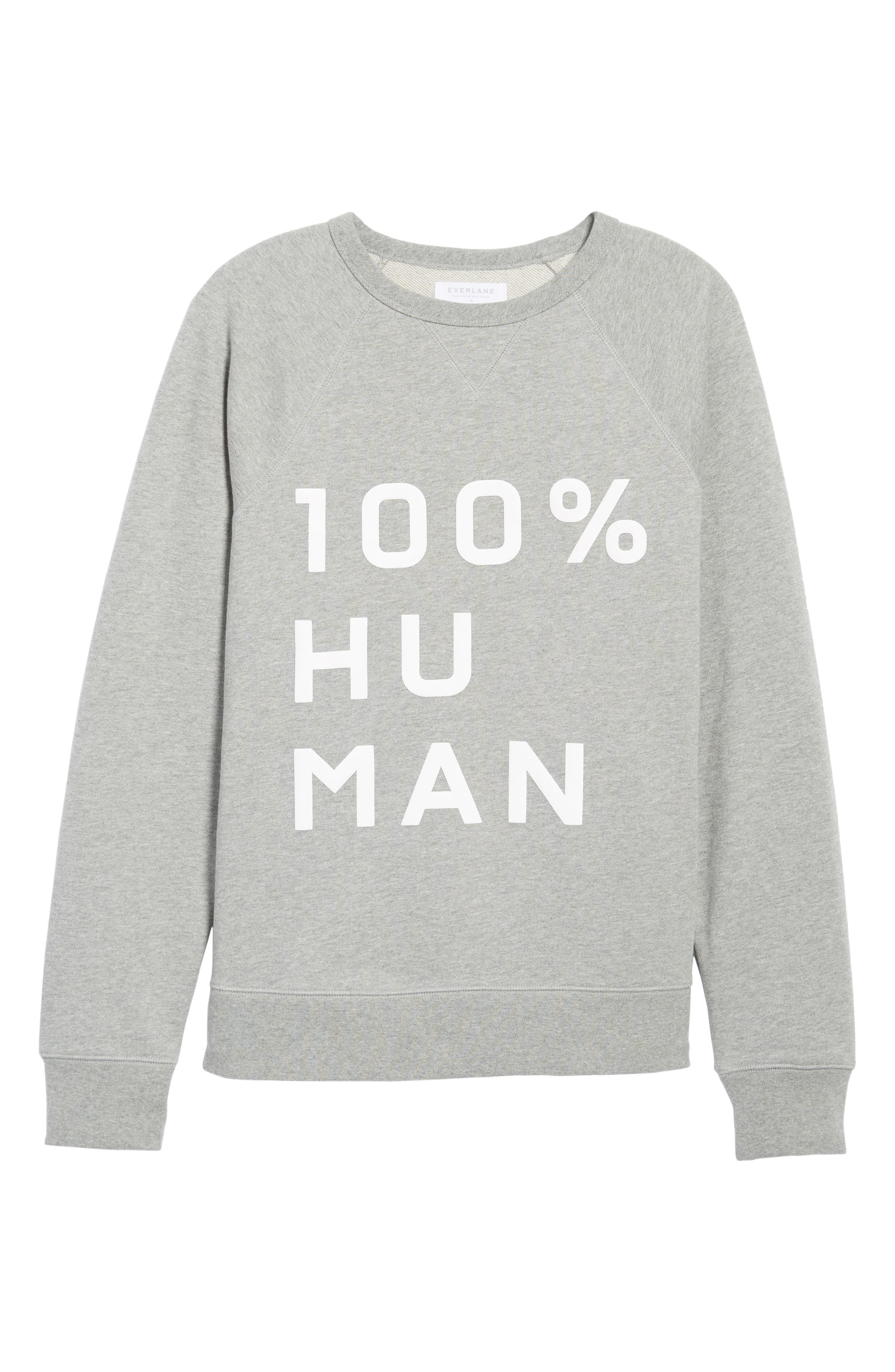 Alternate Image 5  - Everlane The 100% Human Unisex French Terry Sweatshirt