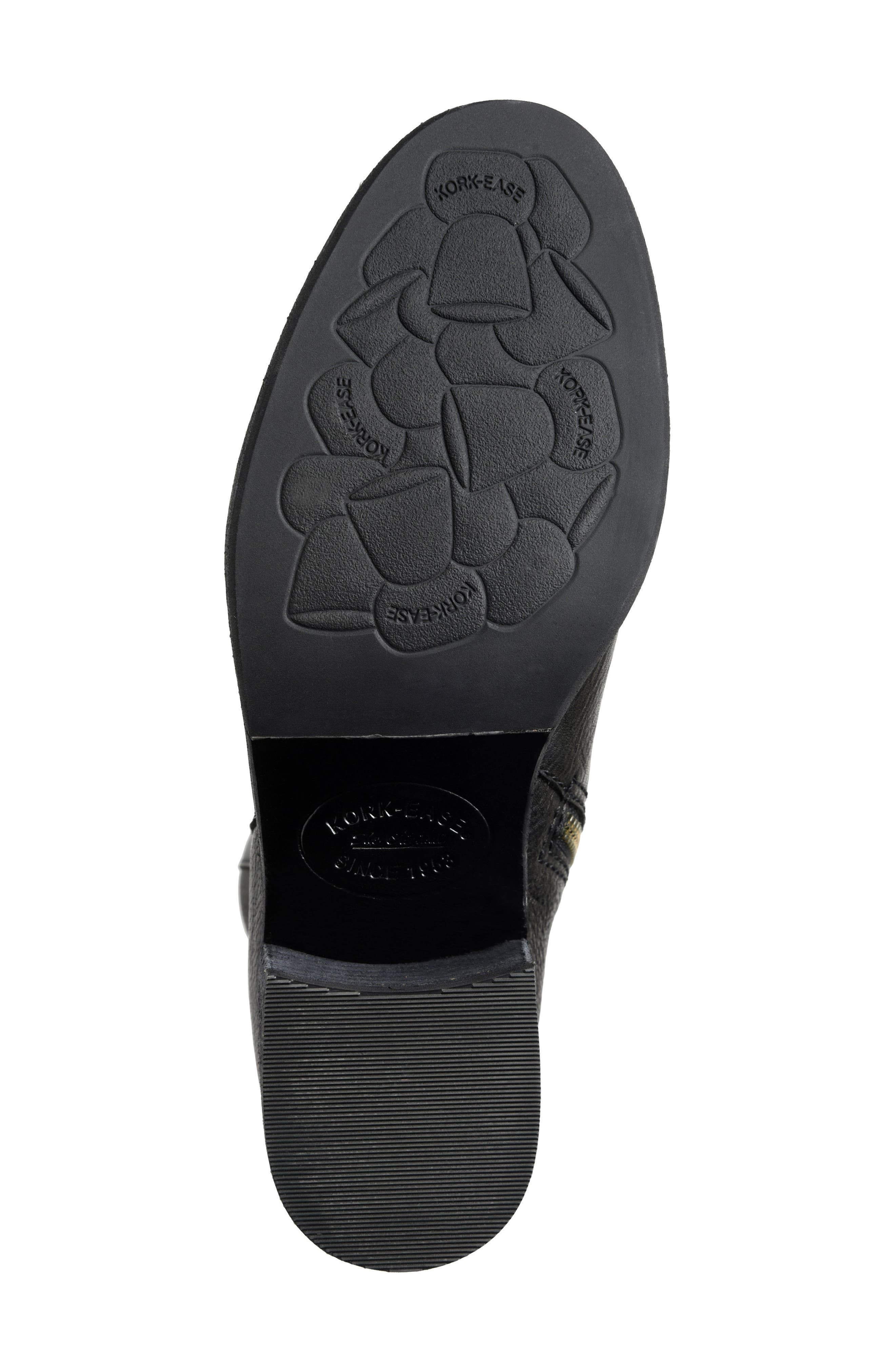 Mayten Bootie,                             Alternate thumbnail 6, color,                             Black Leather