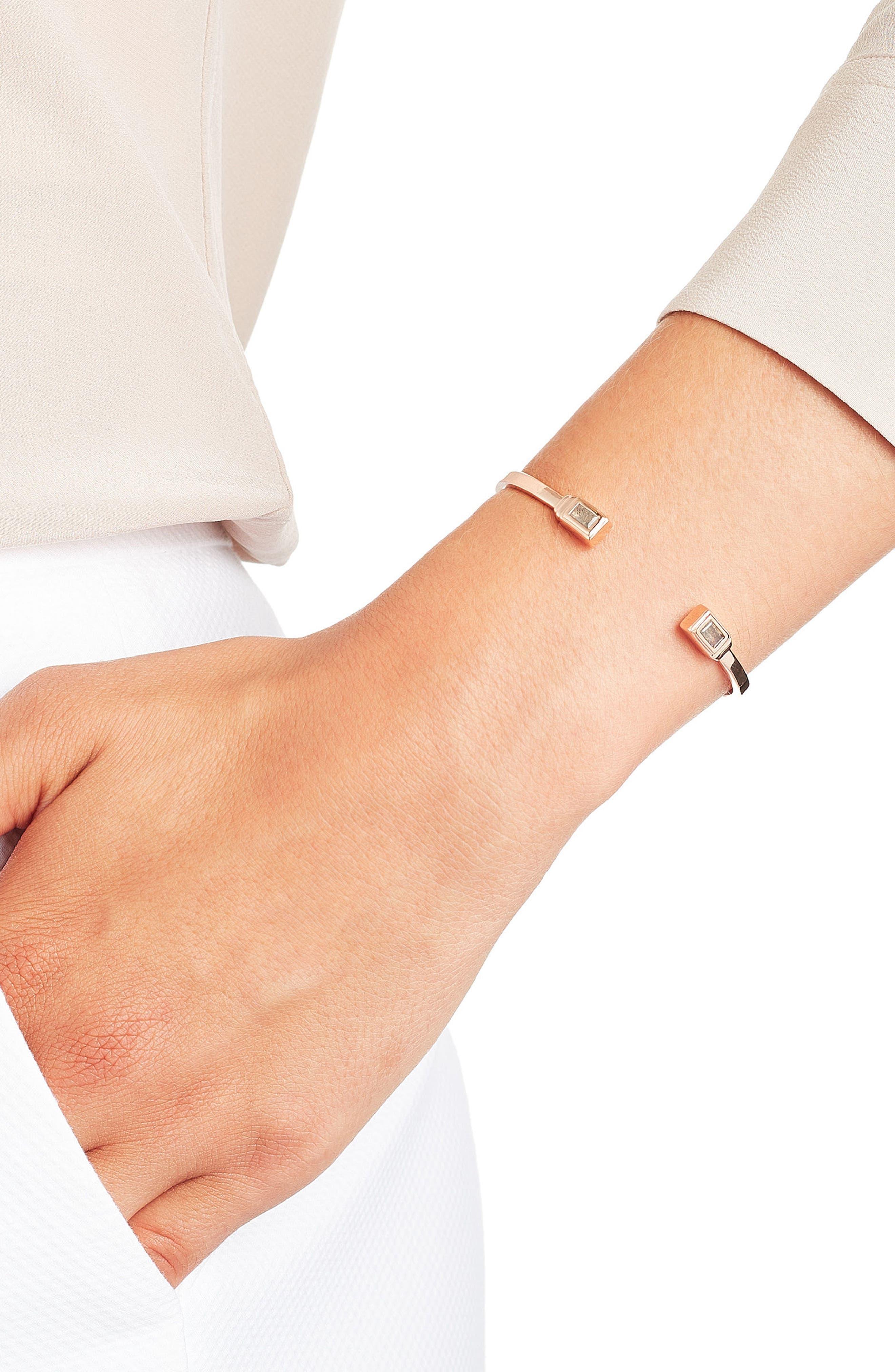 Alternate Image 3  - Monica Vinader Baja Deco Wrist Cuff