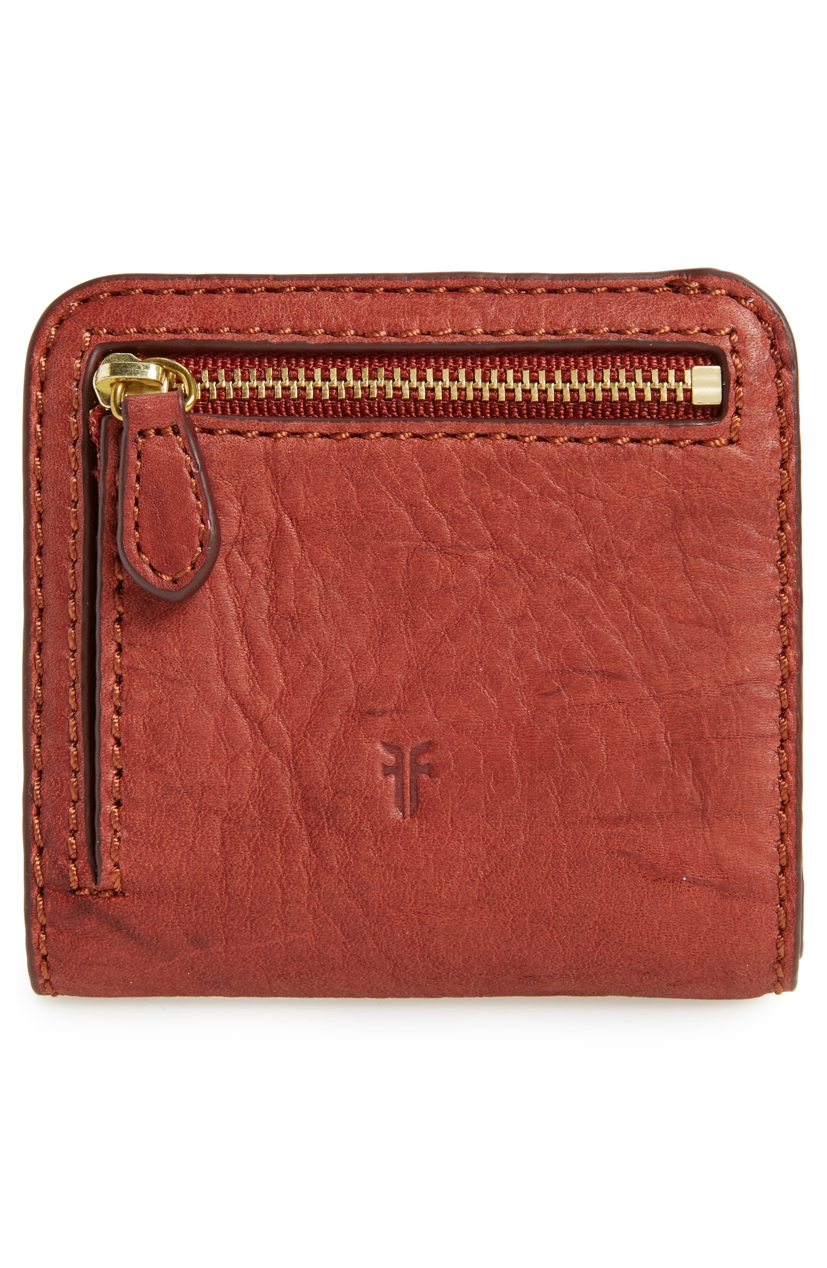 Alternate Image 4  - Frye Small Campus Rivet Leather Wallet