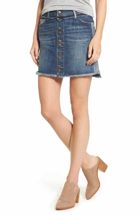 True Religion Brand Jeans Deconstructed Denim Skirt Reviews