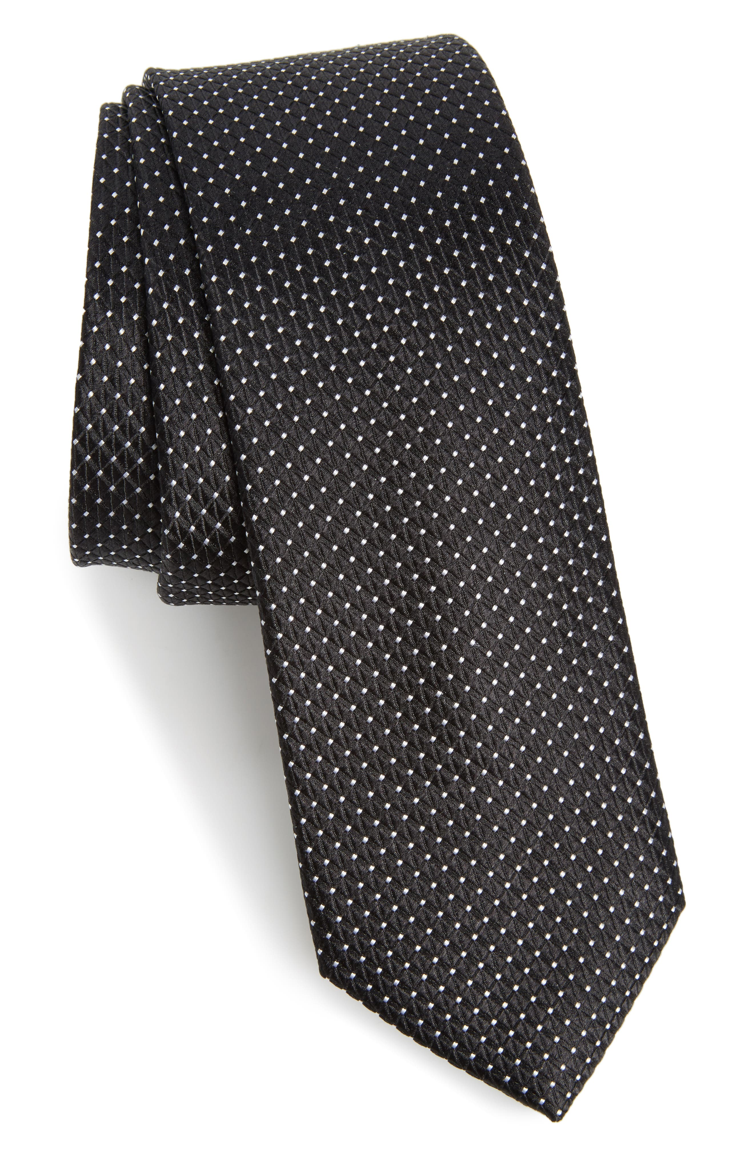 Main Image - Nordstrom Men's Shop Hammond Neat Silk Tie