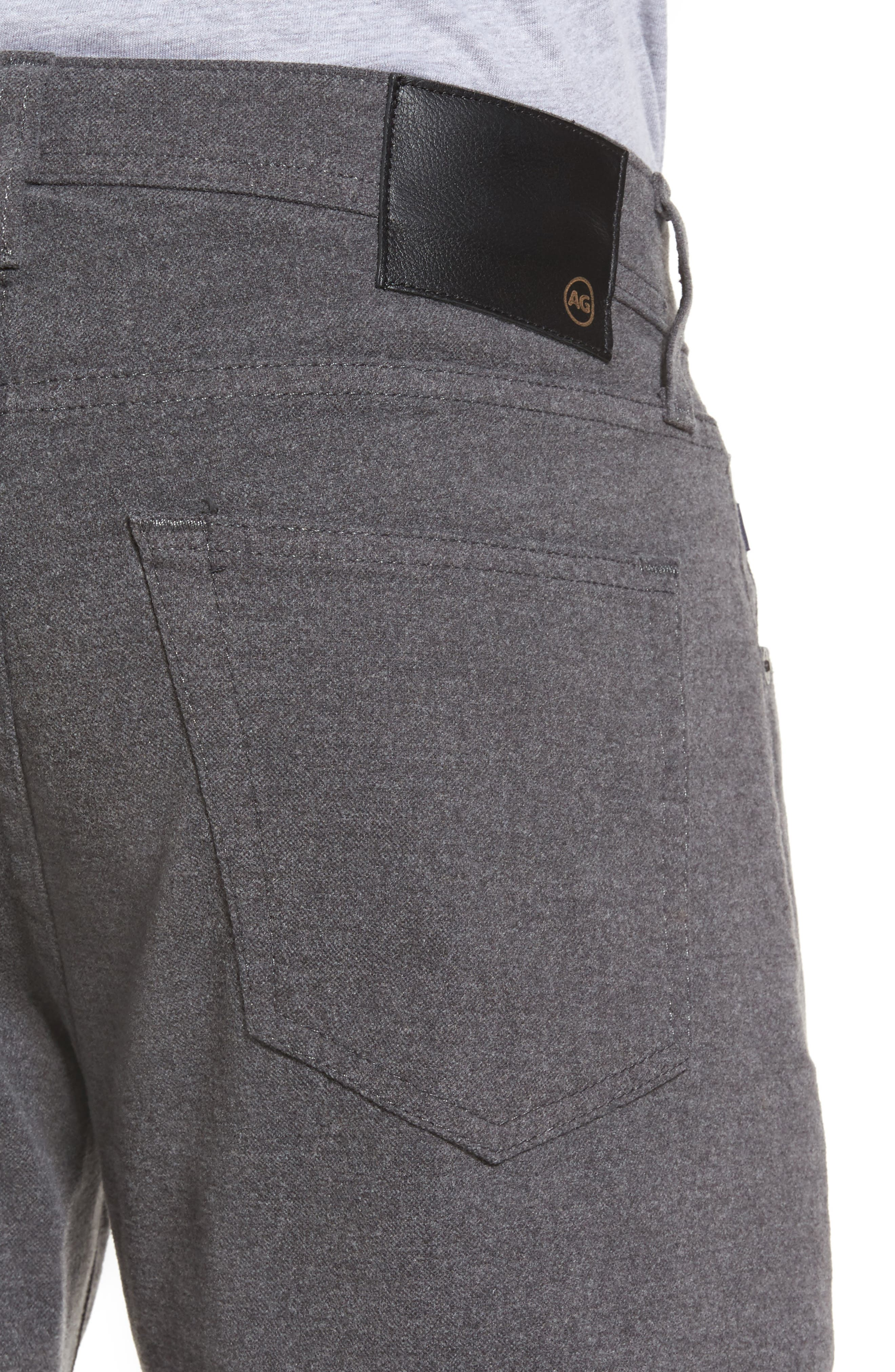 Tellis Slim Fit Five-Pocket Pants,                             Alternate thumbnail 4, color,                             Dark Ridge