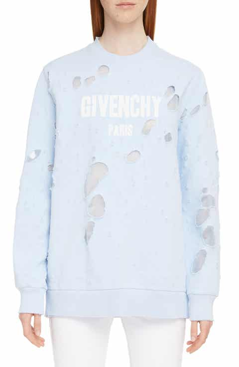 Givenchy Destroyed Logo Sweater