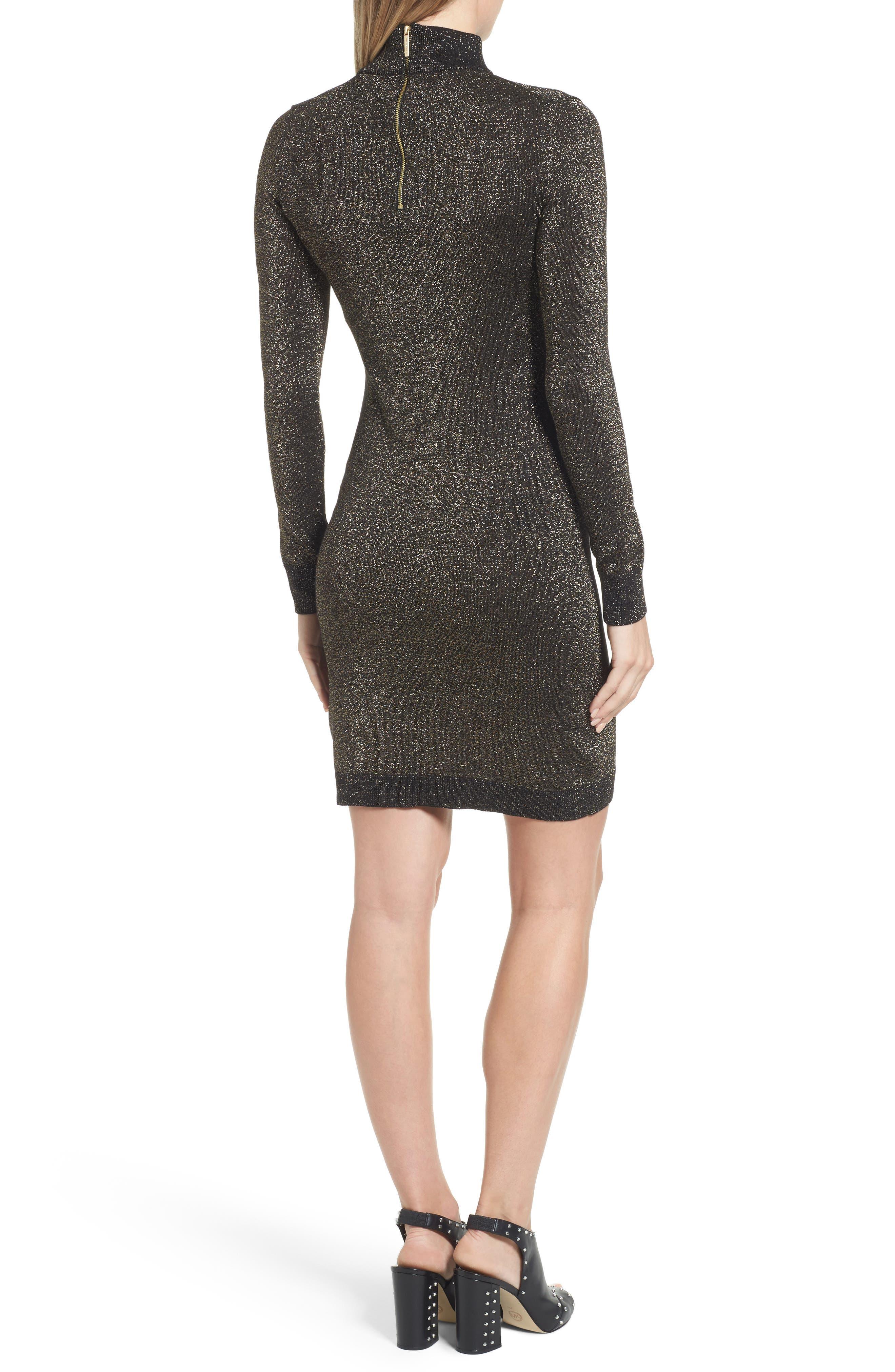 Alternate Image 2  - MICHAEL Michael Kors Choker Sweater Dress