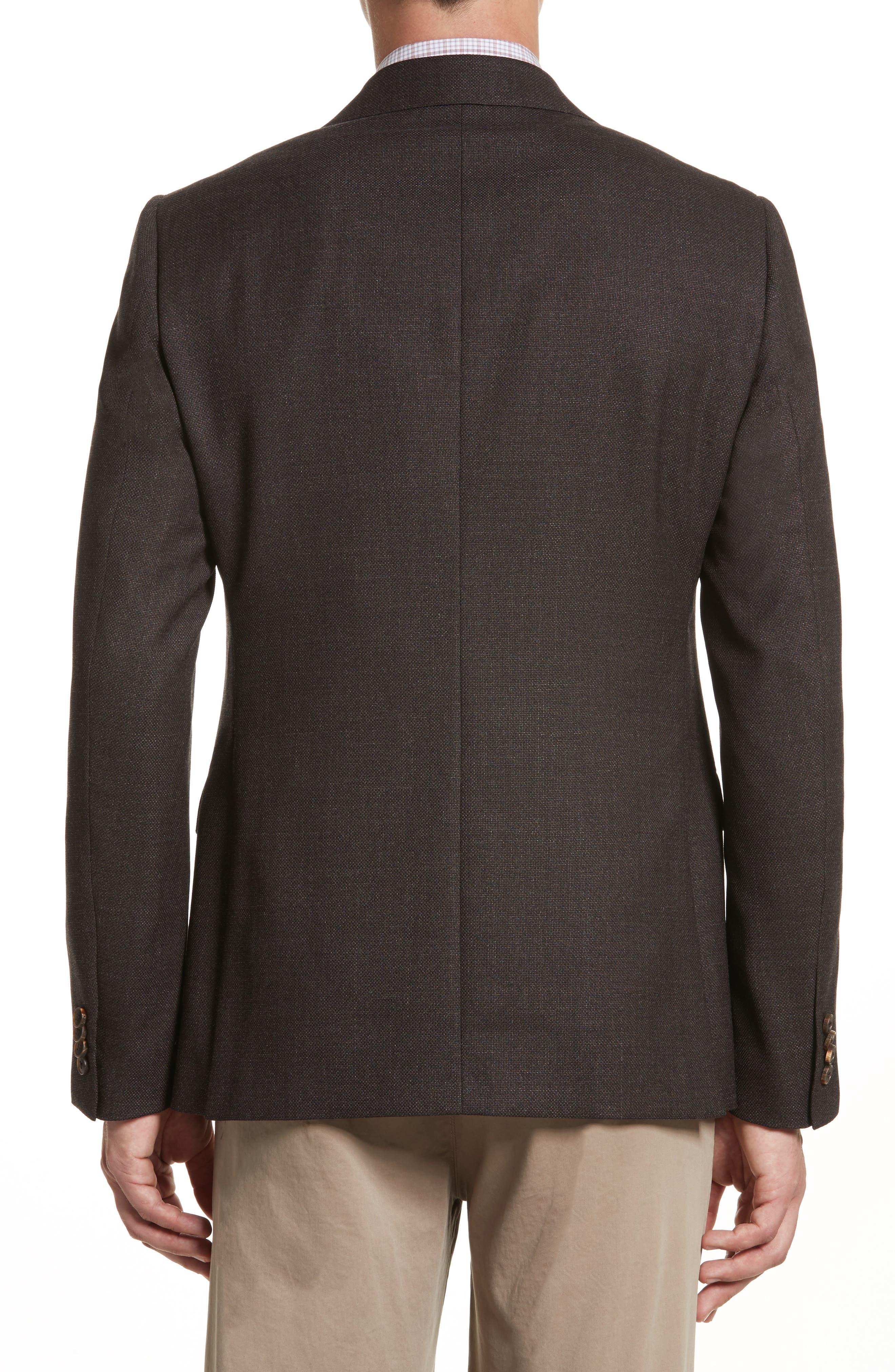 Alternate Image 2  - Z Zegna Classic Fit Wool Blazer