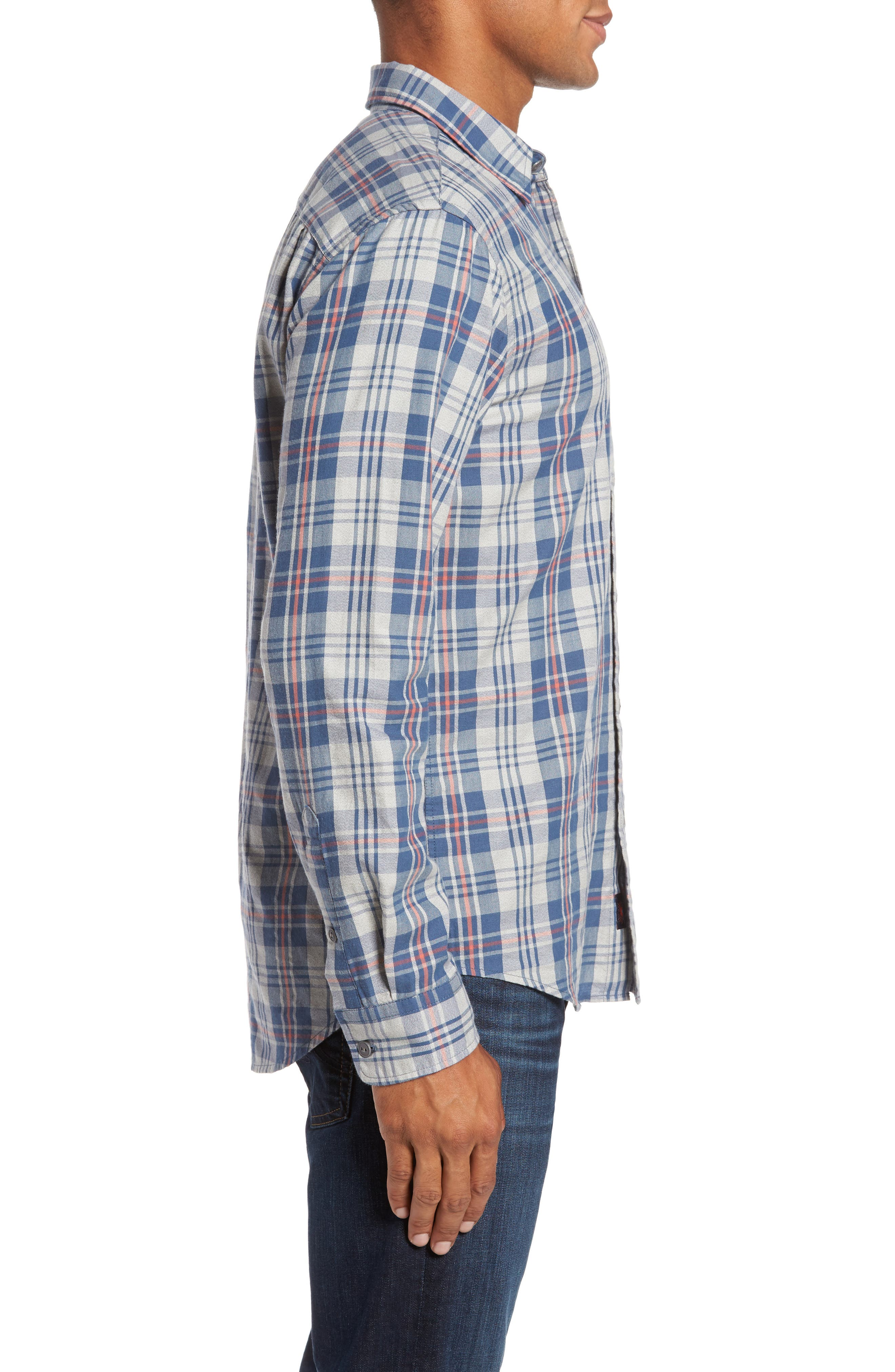 Alternate Image 3  - Faherty Check Sport Shirt