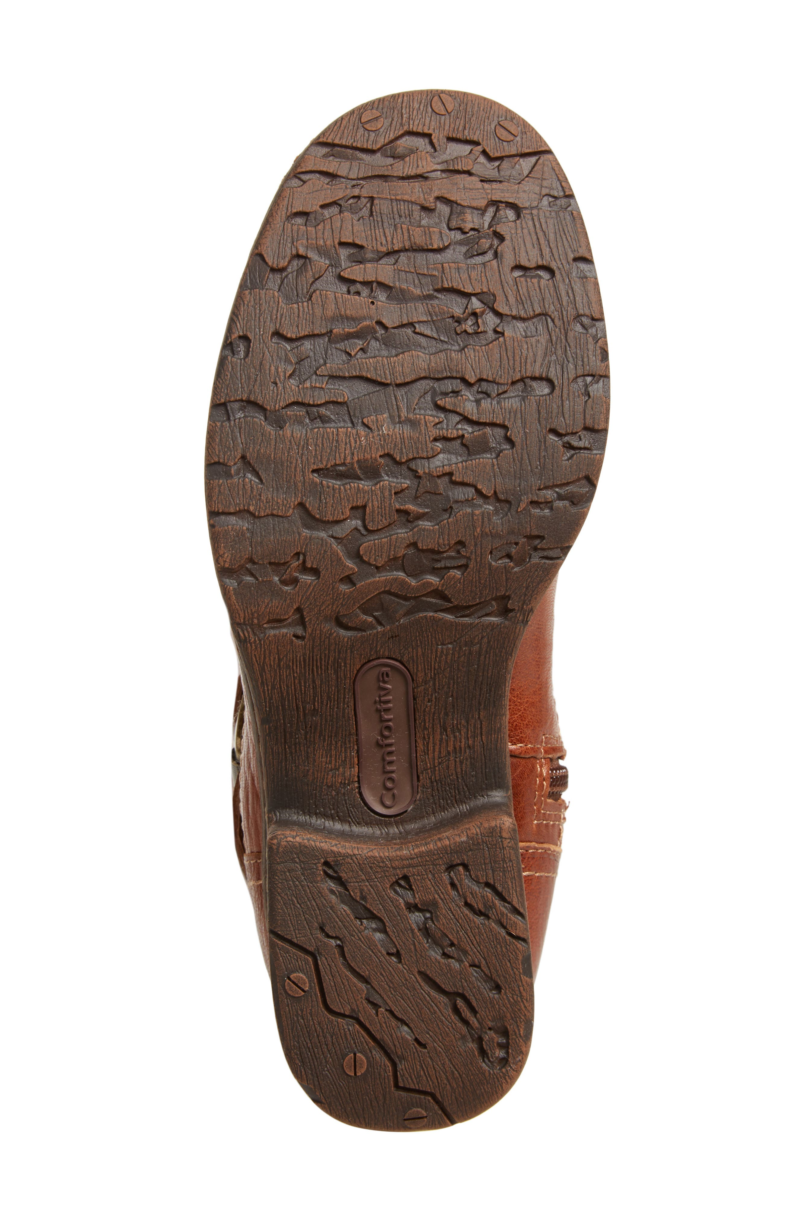 Sedalia Tall Boot,                             Alternate thumbnail 6, color,                             Whiskey Leather