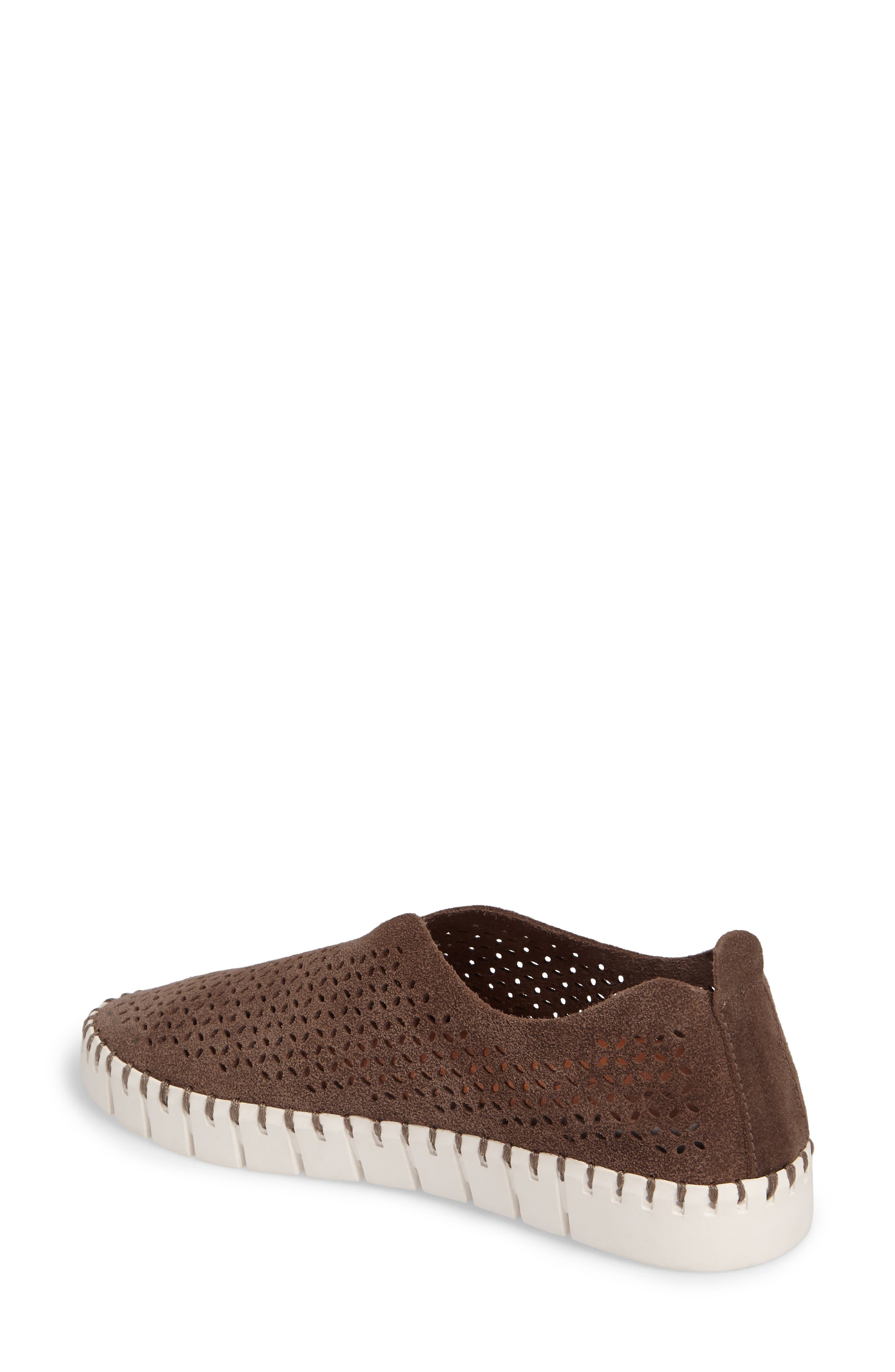 Alternate Image 2  - Jeffrey Campbell Tiles Perforated Slip-On Sneaker (Women)