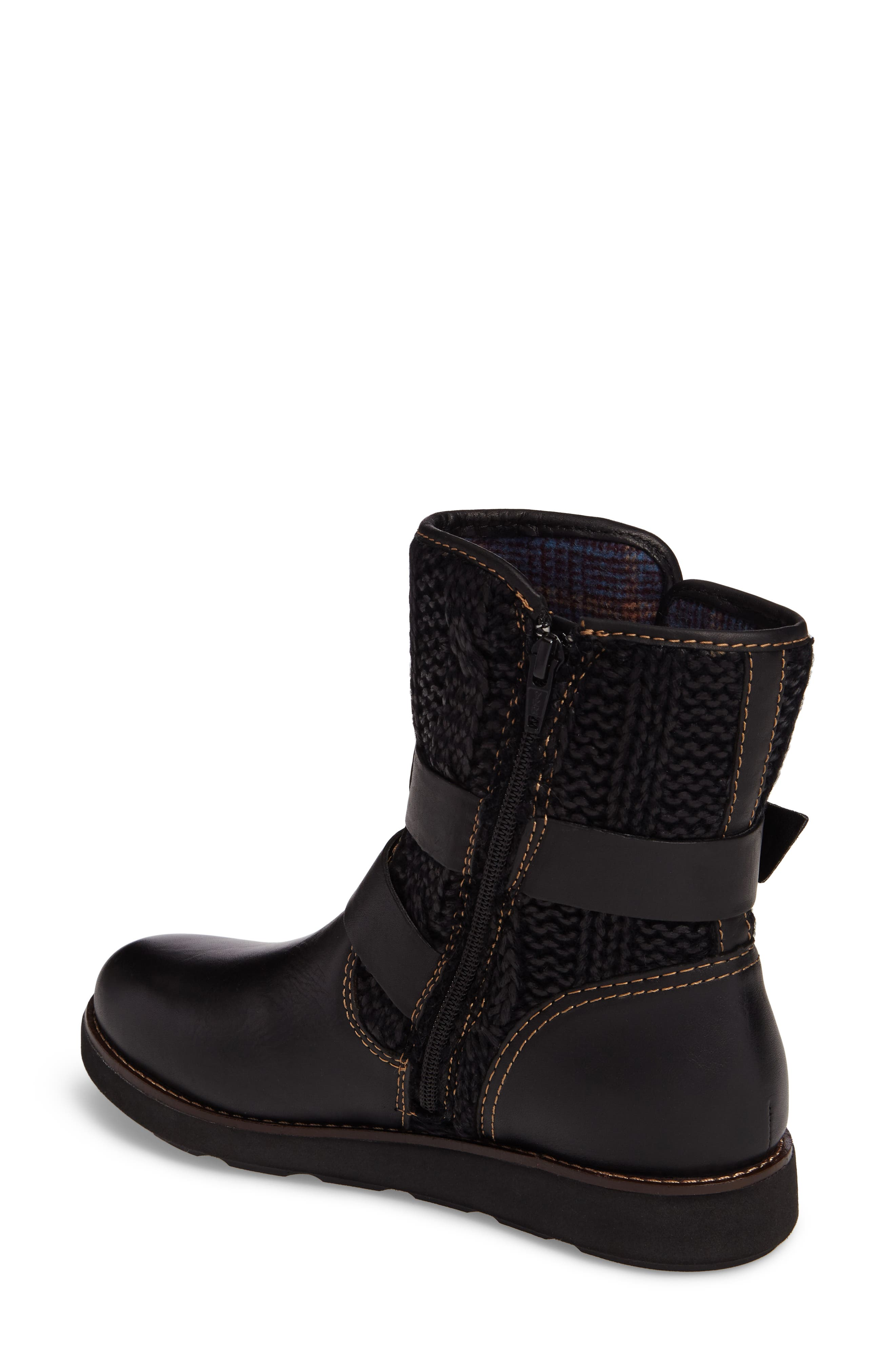 Nordic Boot,                             Alternate thumbnail 2, color,                             Black Leather